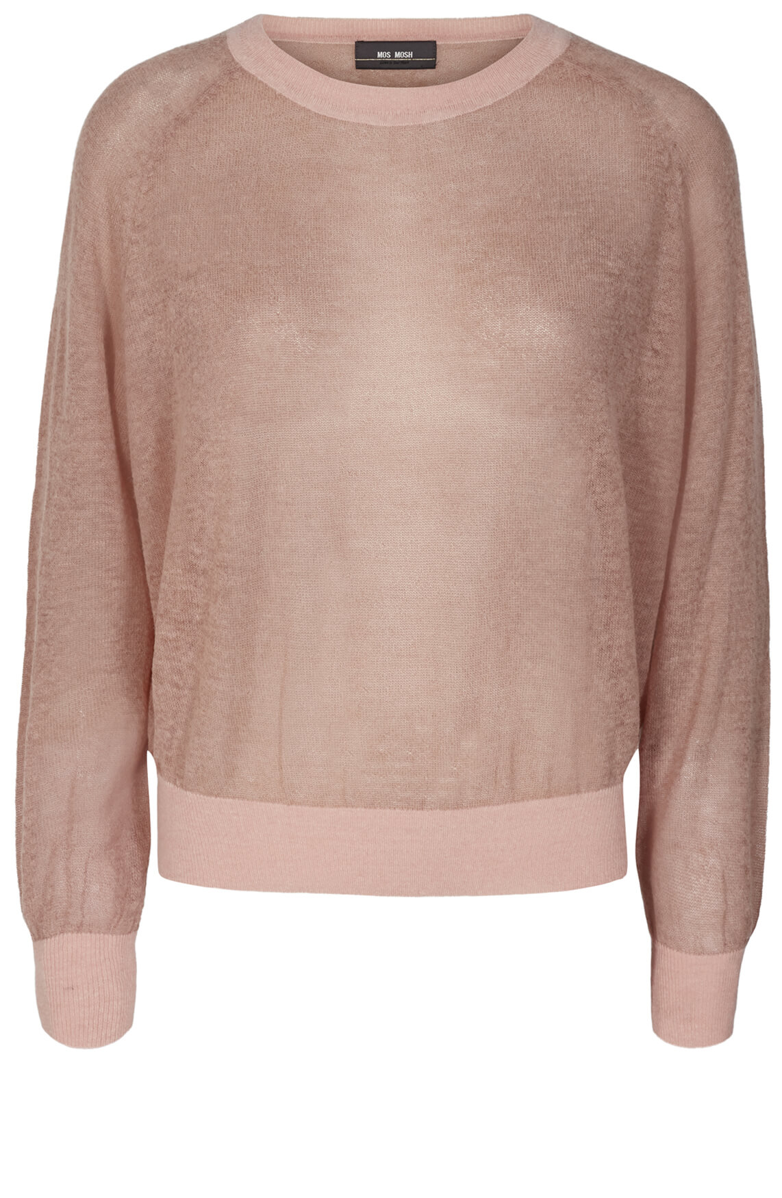 Mos Mosh Dames Fijngebreide pullover roze