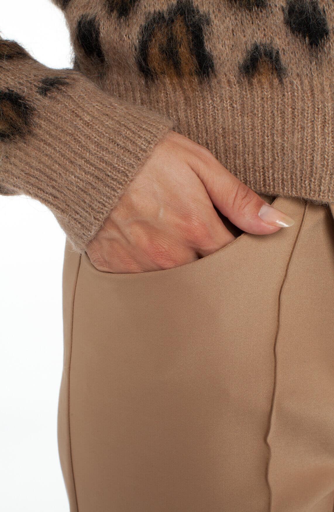 Mos Mosh Dames Como pantalon Bruin