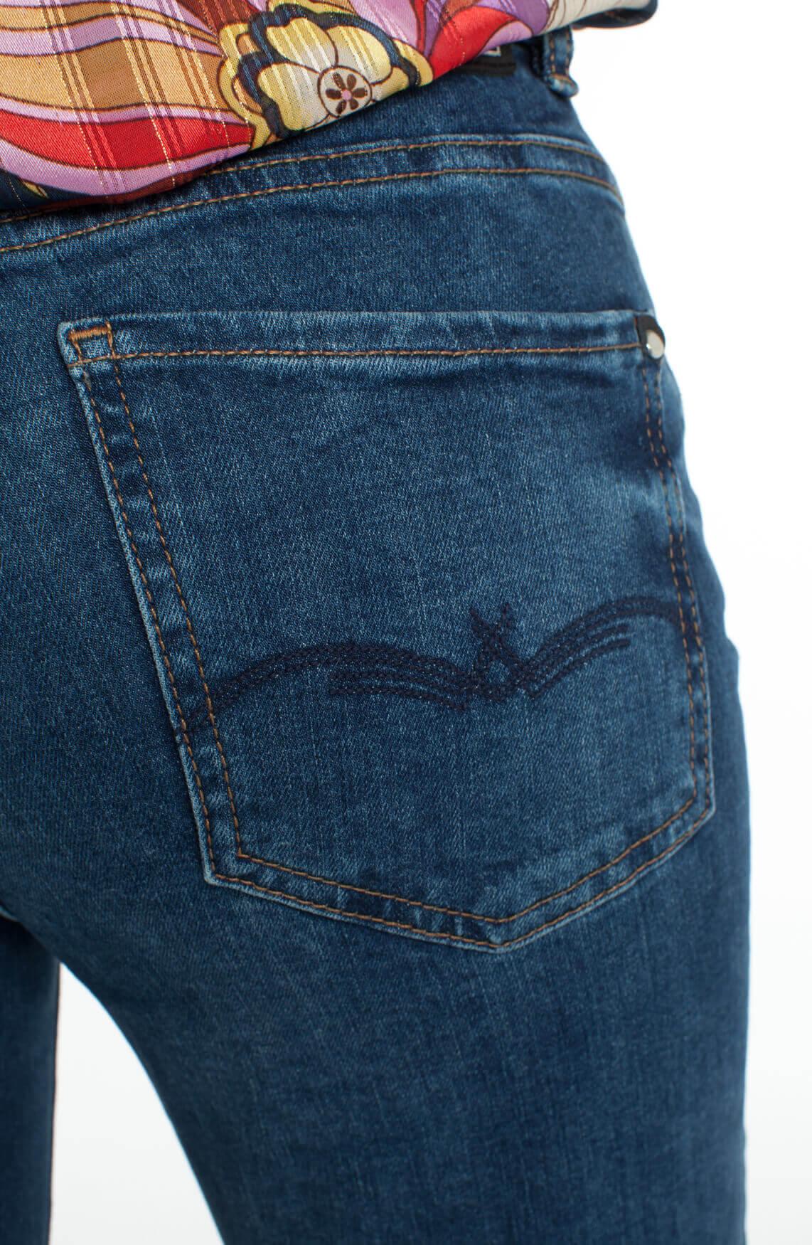 Mos Mosh Dames Sumner flared jeans Blauw