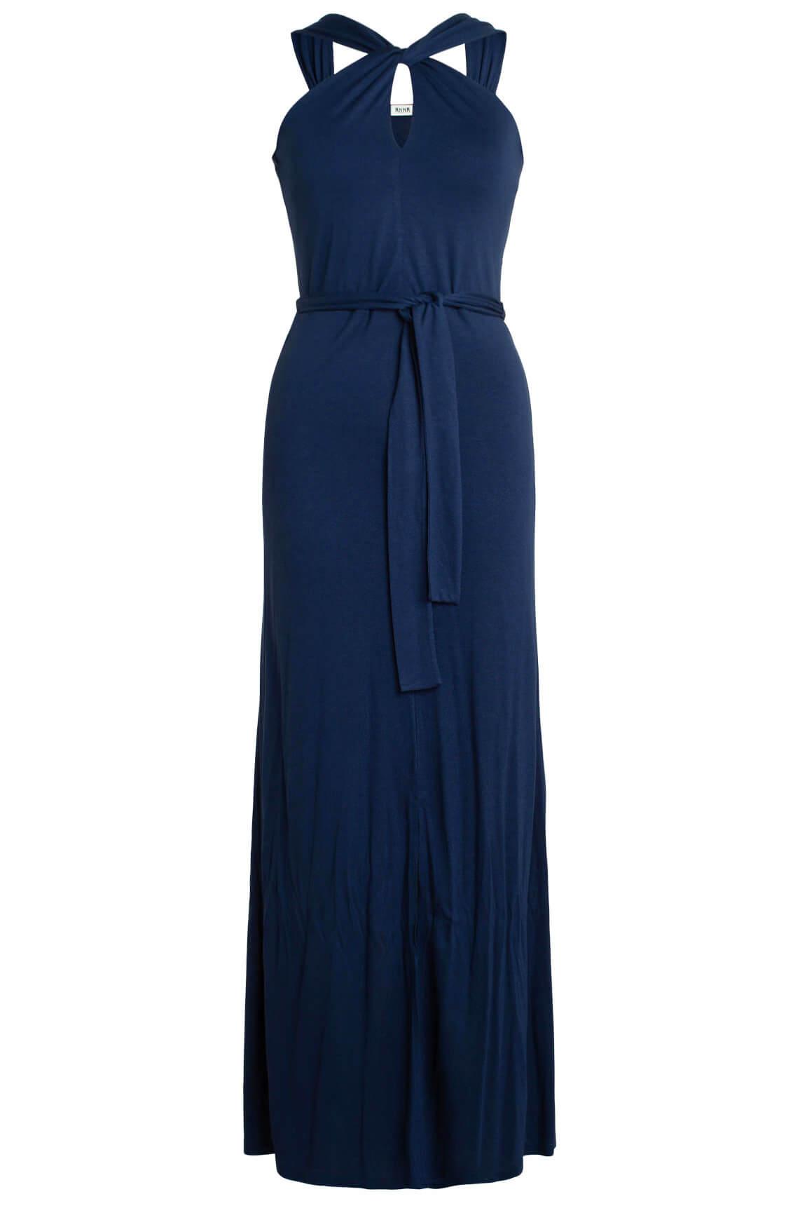 Anna Dames Maxi jurk Blauw