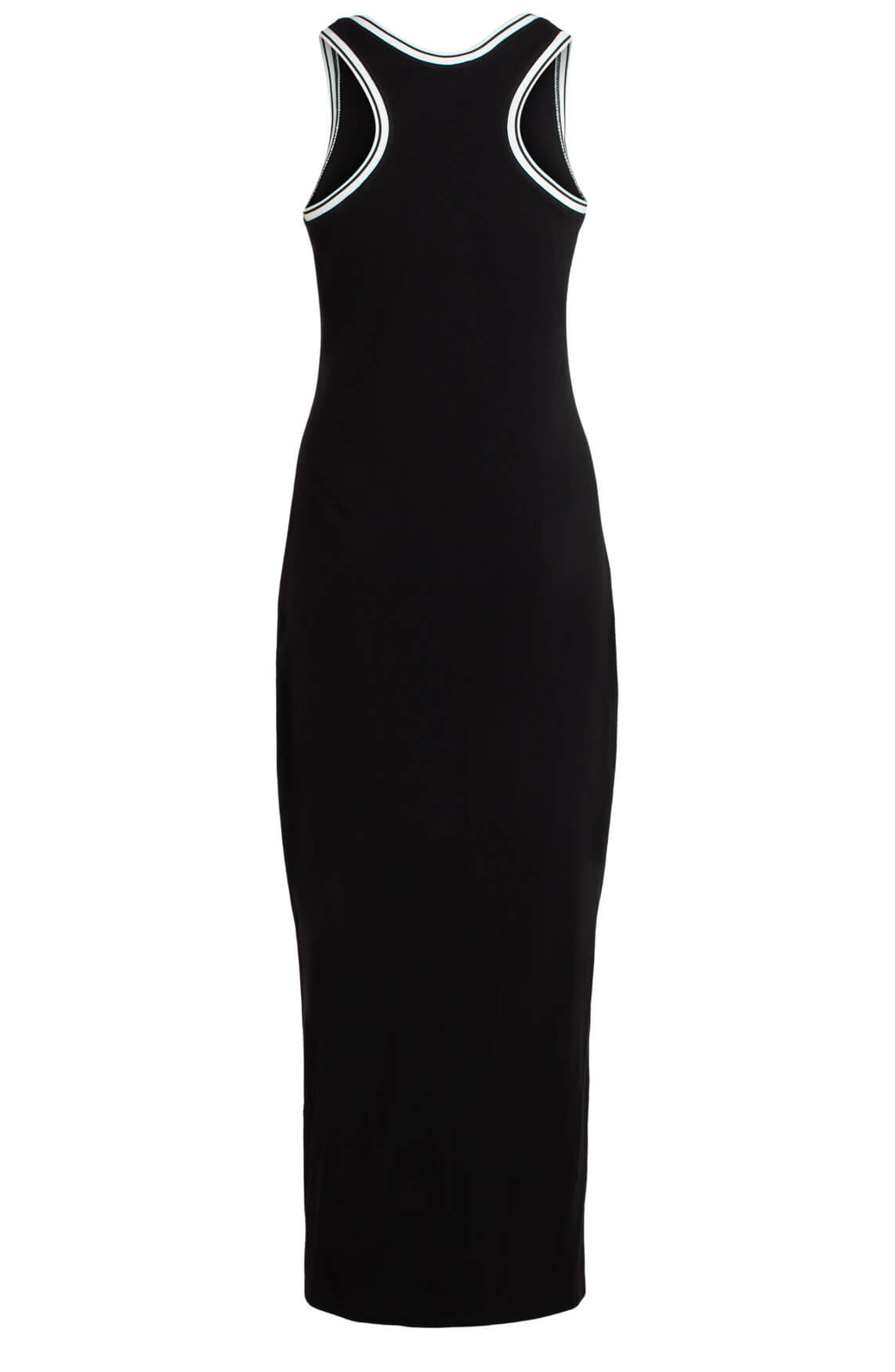 Anna Dames Mouwloze jurk zwart