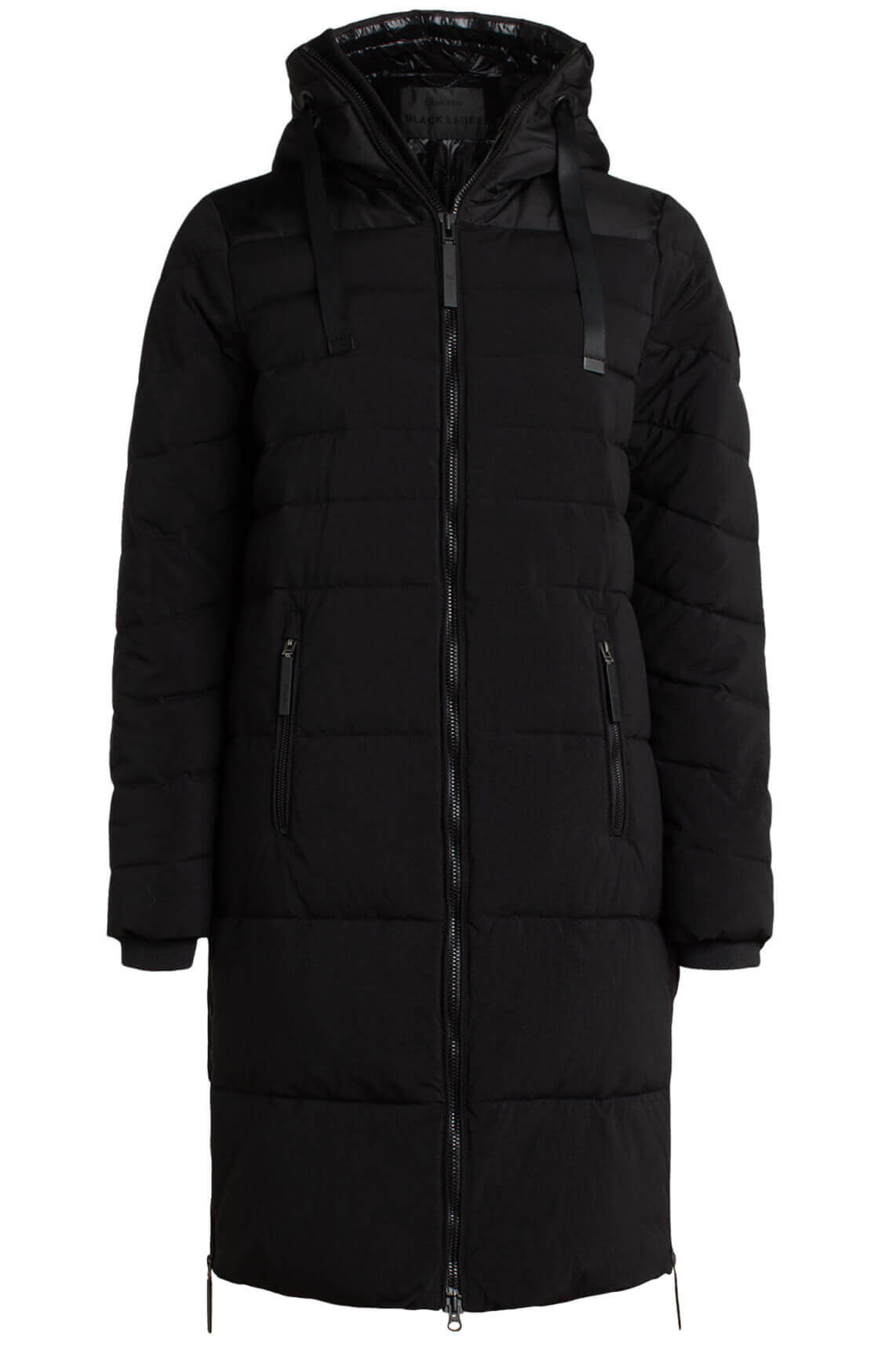 Giacomo Dames Waterafstotende jas zwart