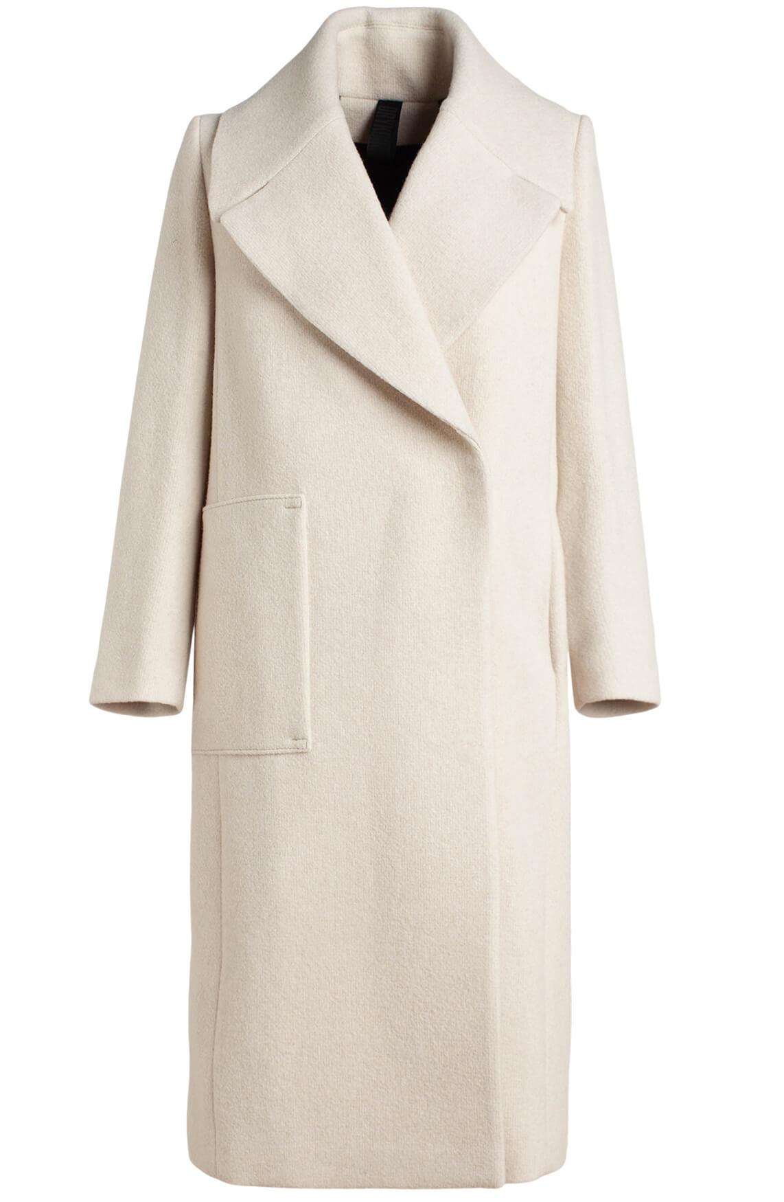 Drykorn Dames Cluny chique overslag mantel Ecru