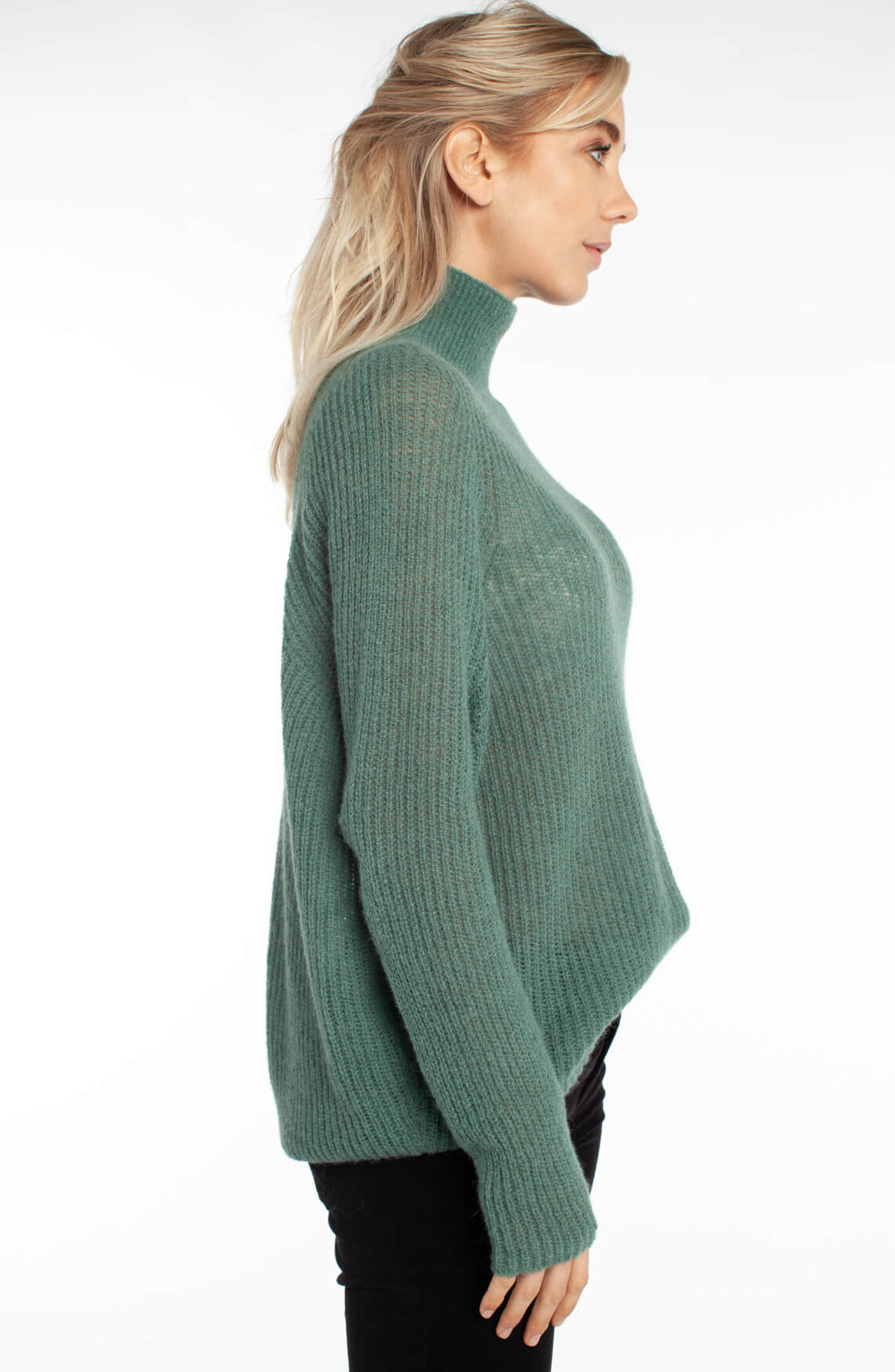 Drykorn Dames Lyza pullover groen