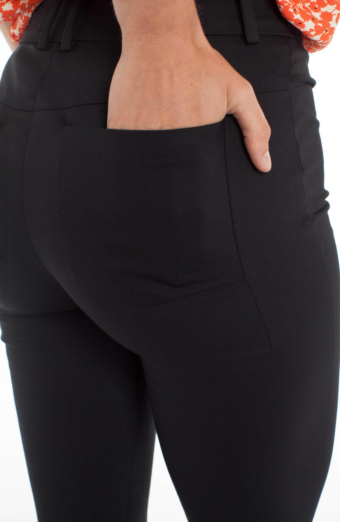 Drykorn Dames Winch pantalon zwart