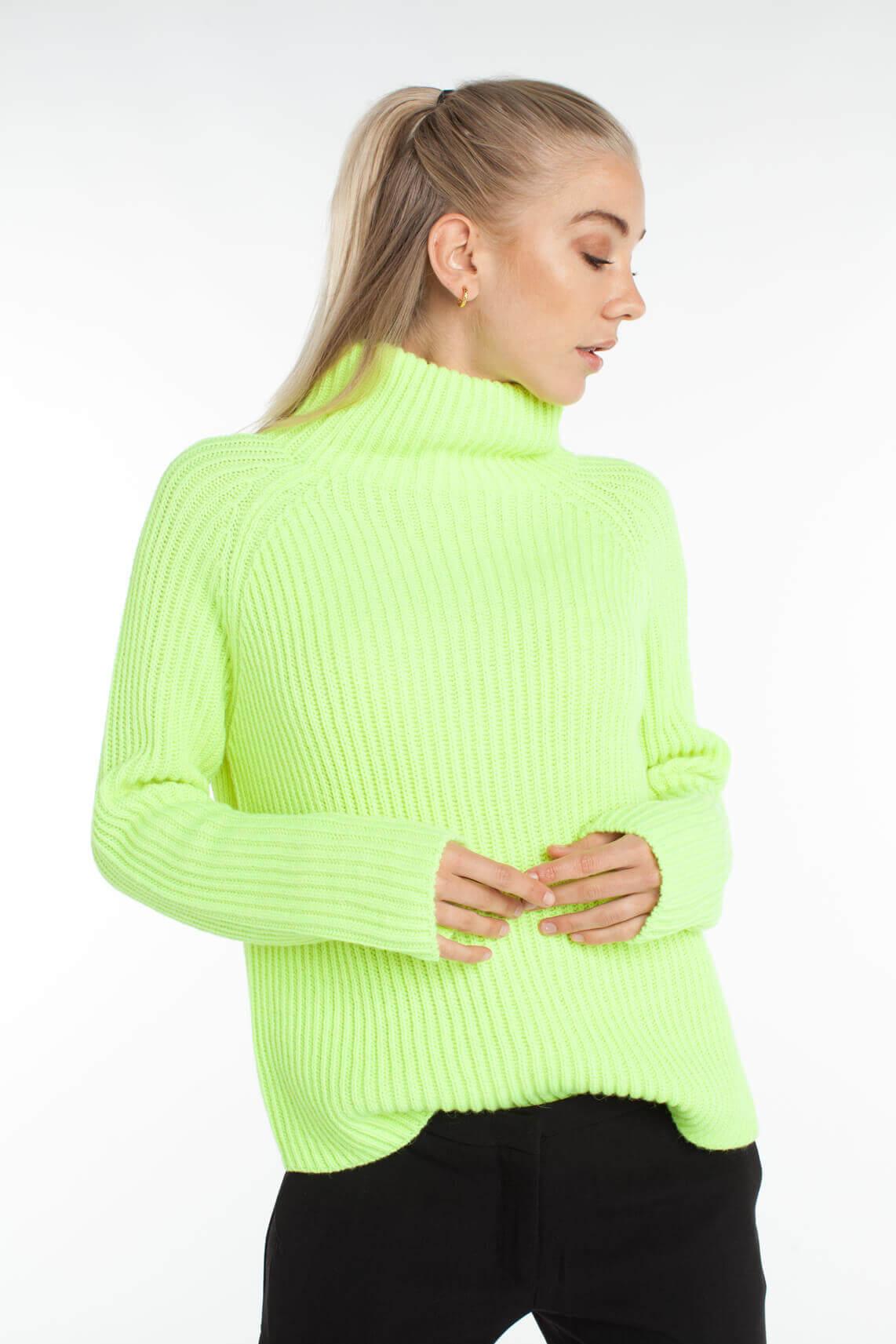 Drykorn Dames Arwen pullover groen