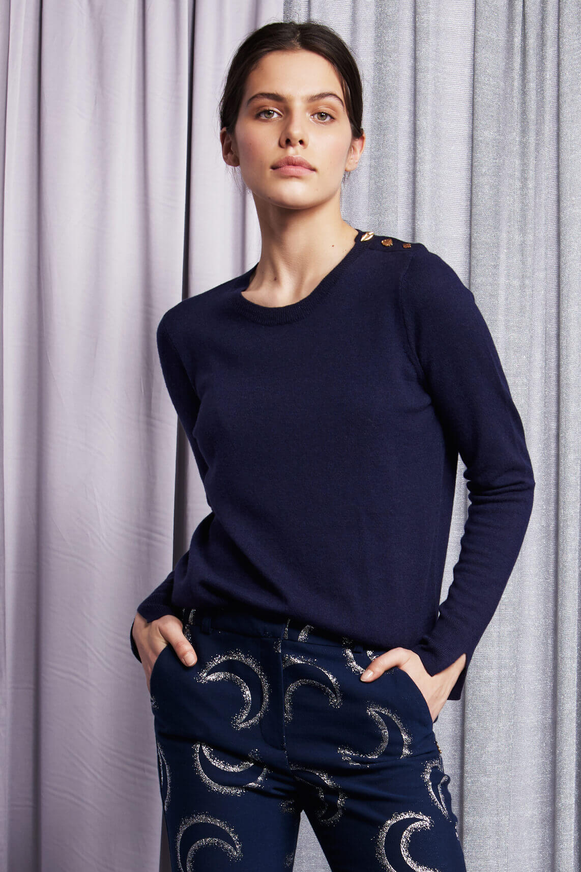 Fabienne Chapot Dames Molly pullover Blauw
