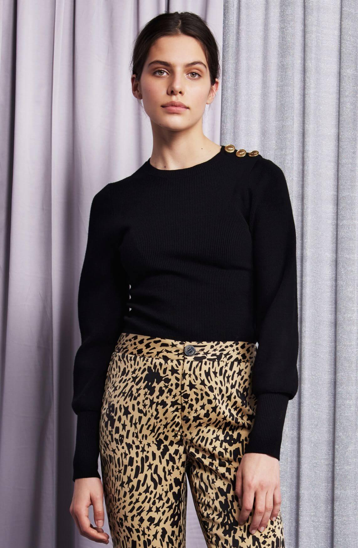 Fabienne Chapot Dames Lilian pullover zwart