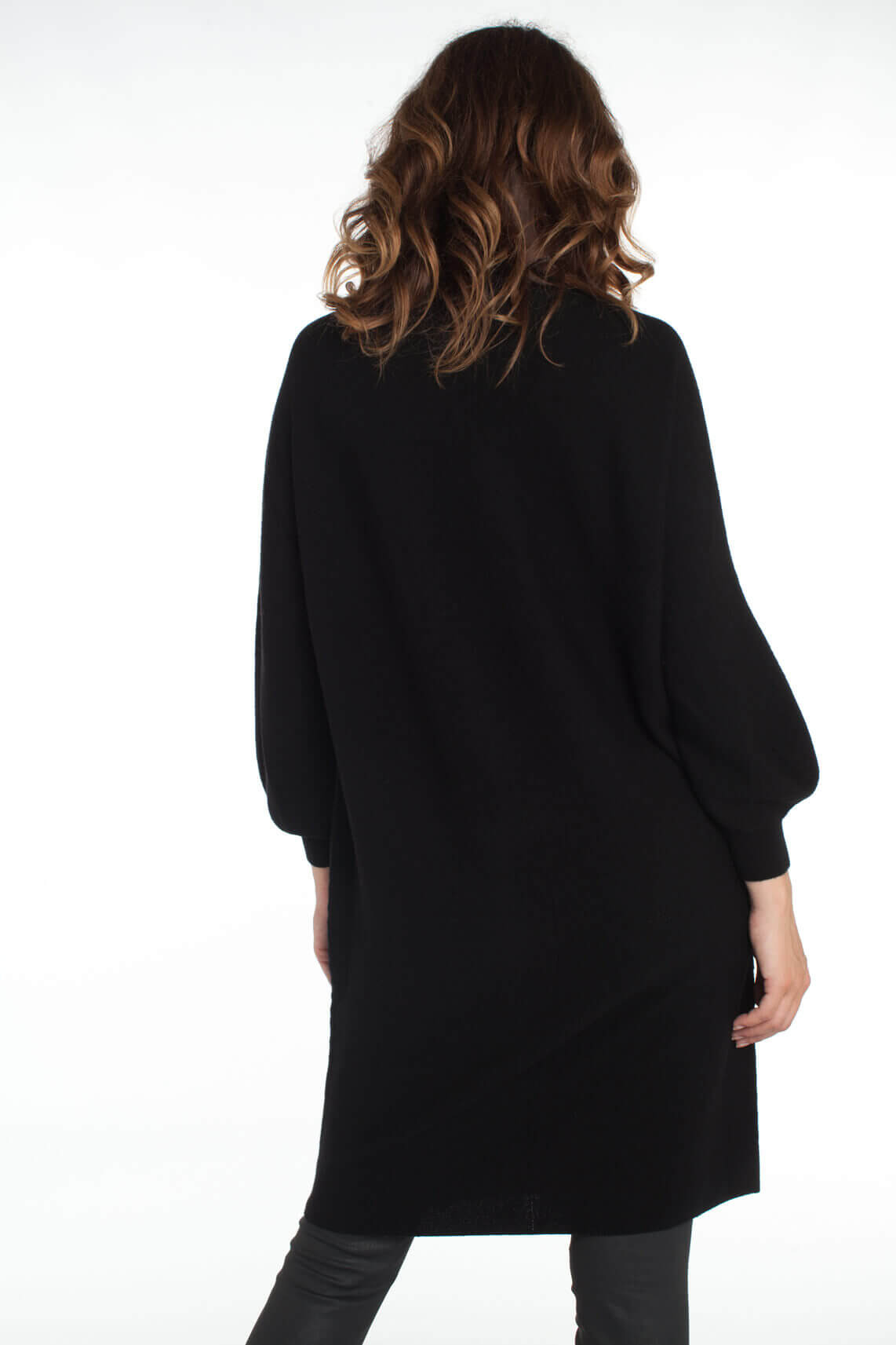 Drykorn Dames Mirasal wollen jurk zwart