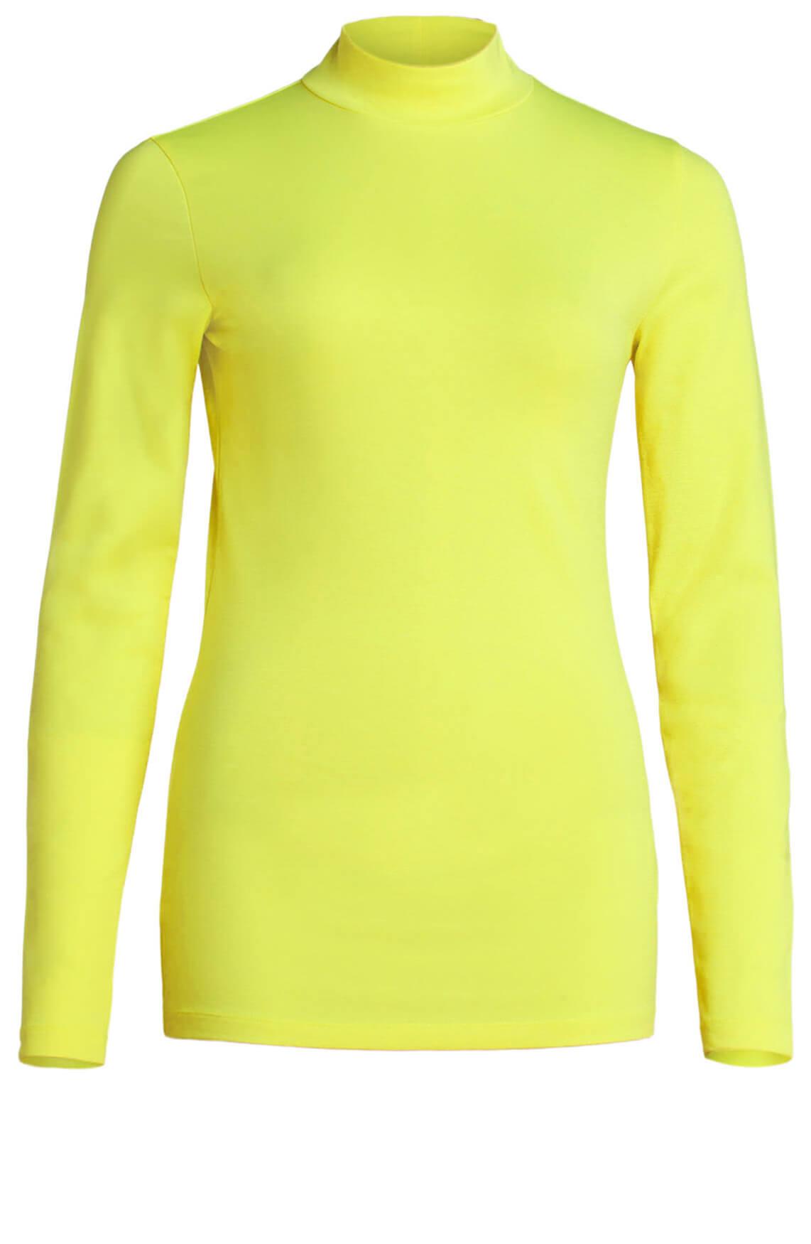 Drykorn Dames Klea stretch pullover geel