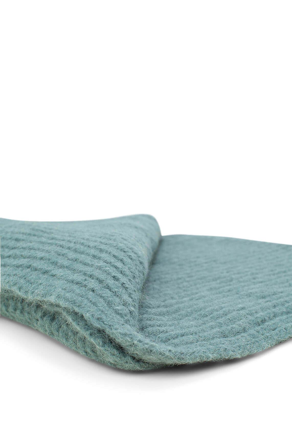 Drykorn Dames Cronica wollen shawl groen