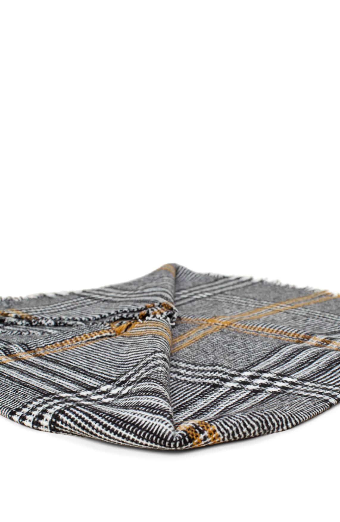 Anna Dames Driehoek shawl geel
