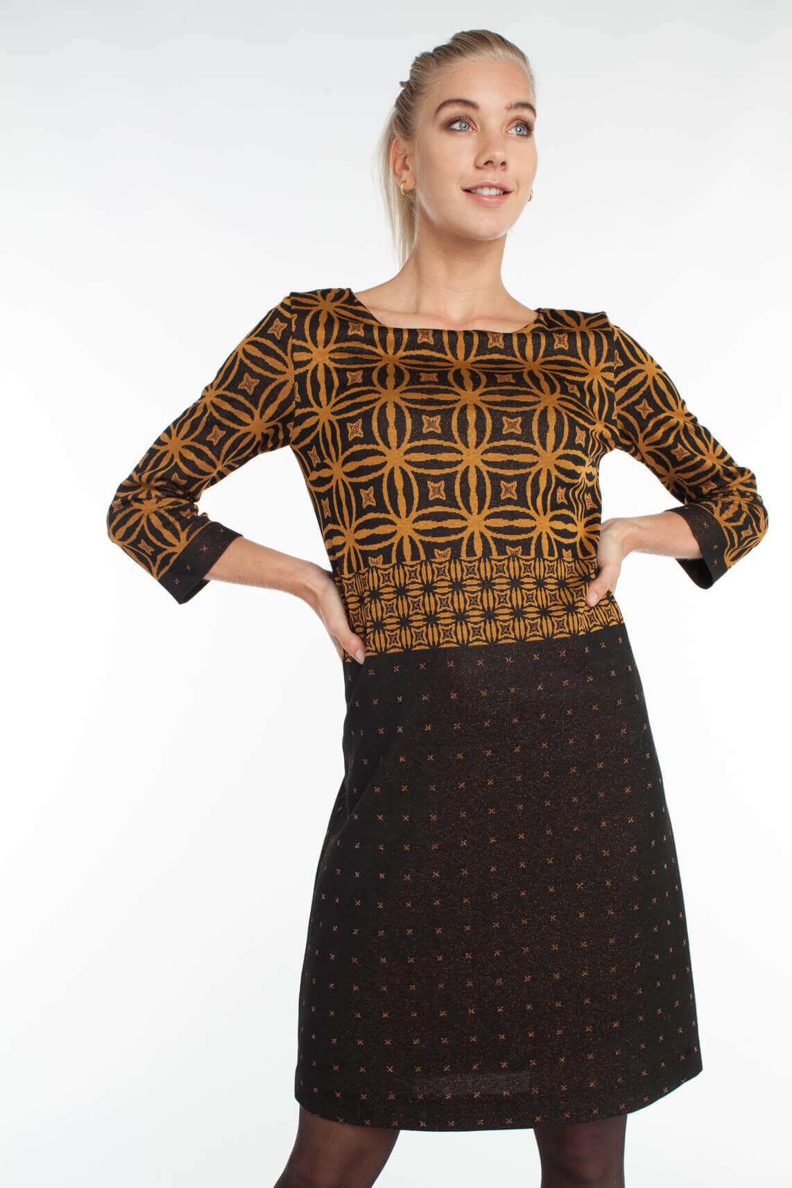 Ana Alcazar Dames Vestna empire jurk geel