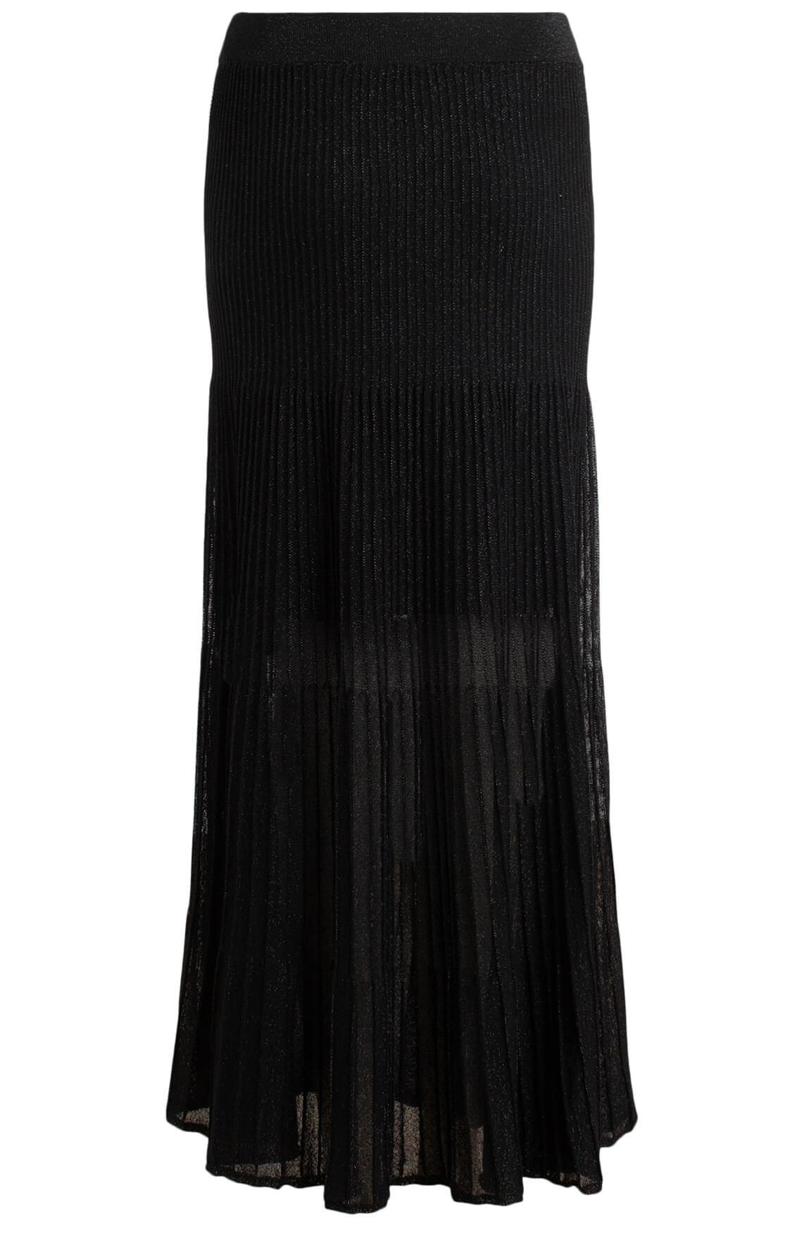 Kocca Dames Rory glitter rok zwart