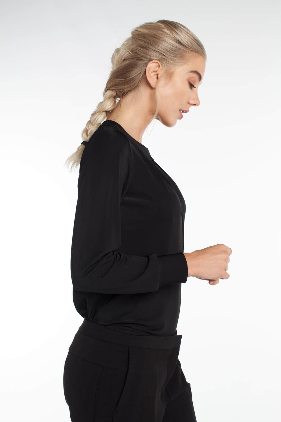 Kocca Dames Baiser blouse zwart