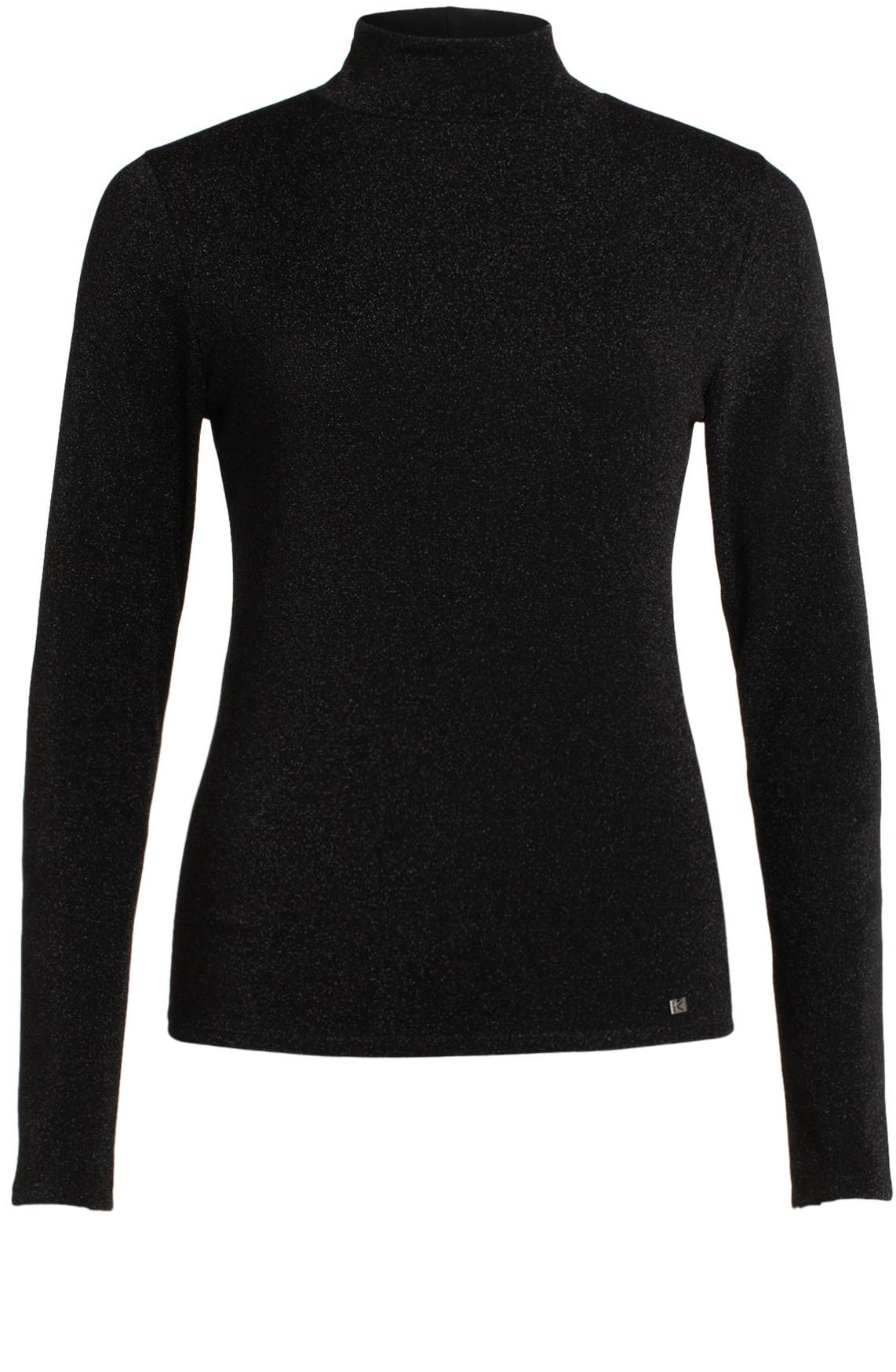 Kocca Dames Walda glitter pullover zwart