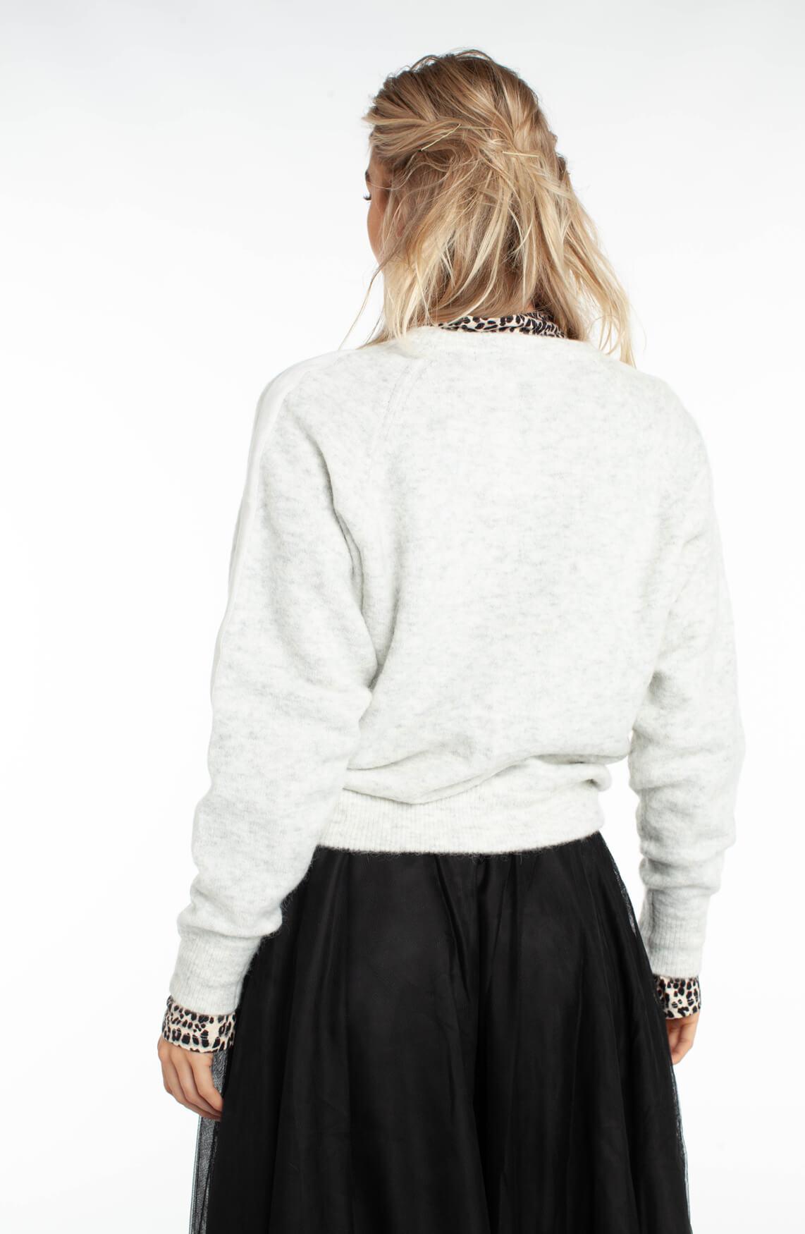 10 Days Dames Gebreide pullover Grijs