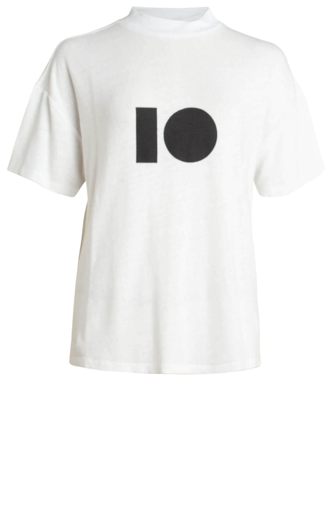 10 Days Dames Turtle neck shirt wit
