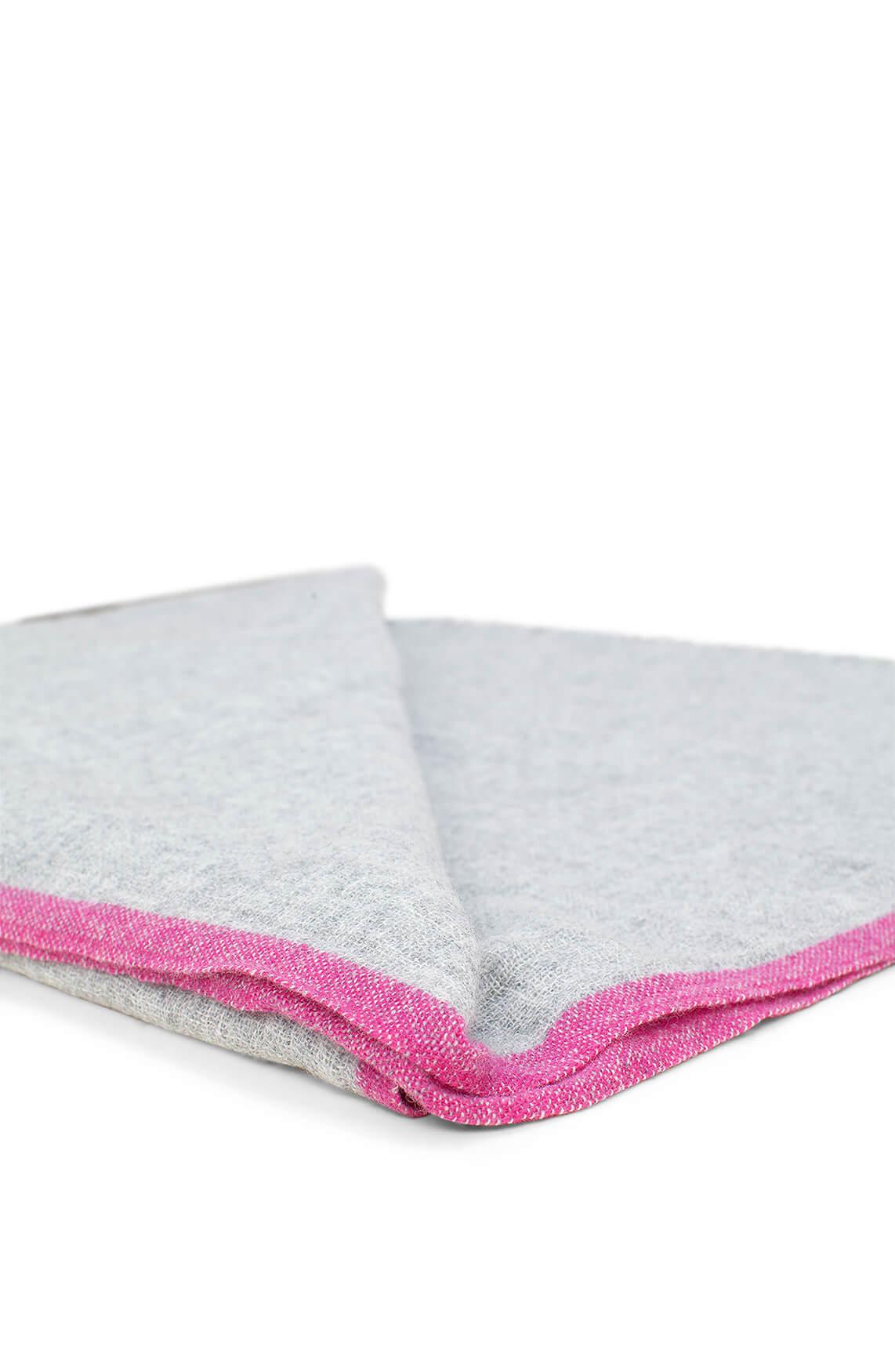 10 Days Dames Gemêleerde shawl Grijs