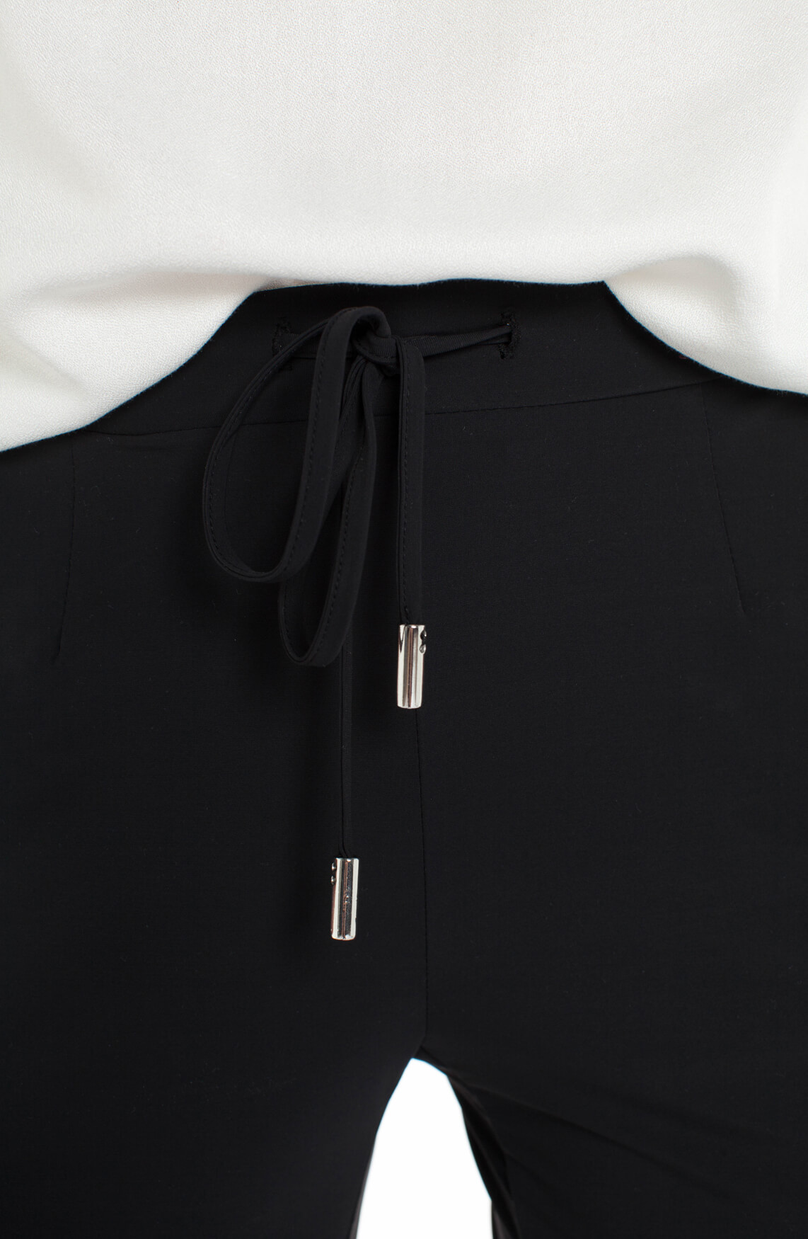 Anna Dames Jersey sensitive broek zwart