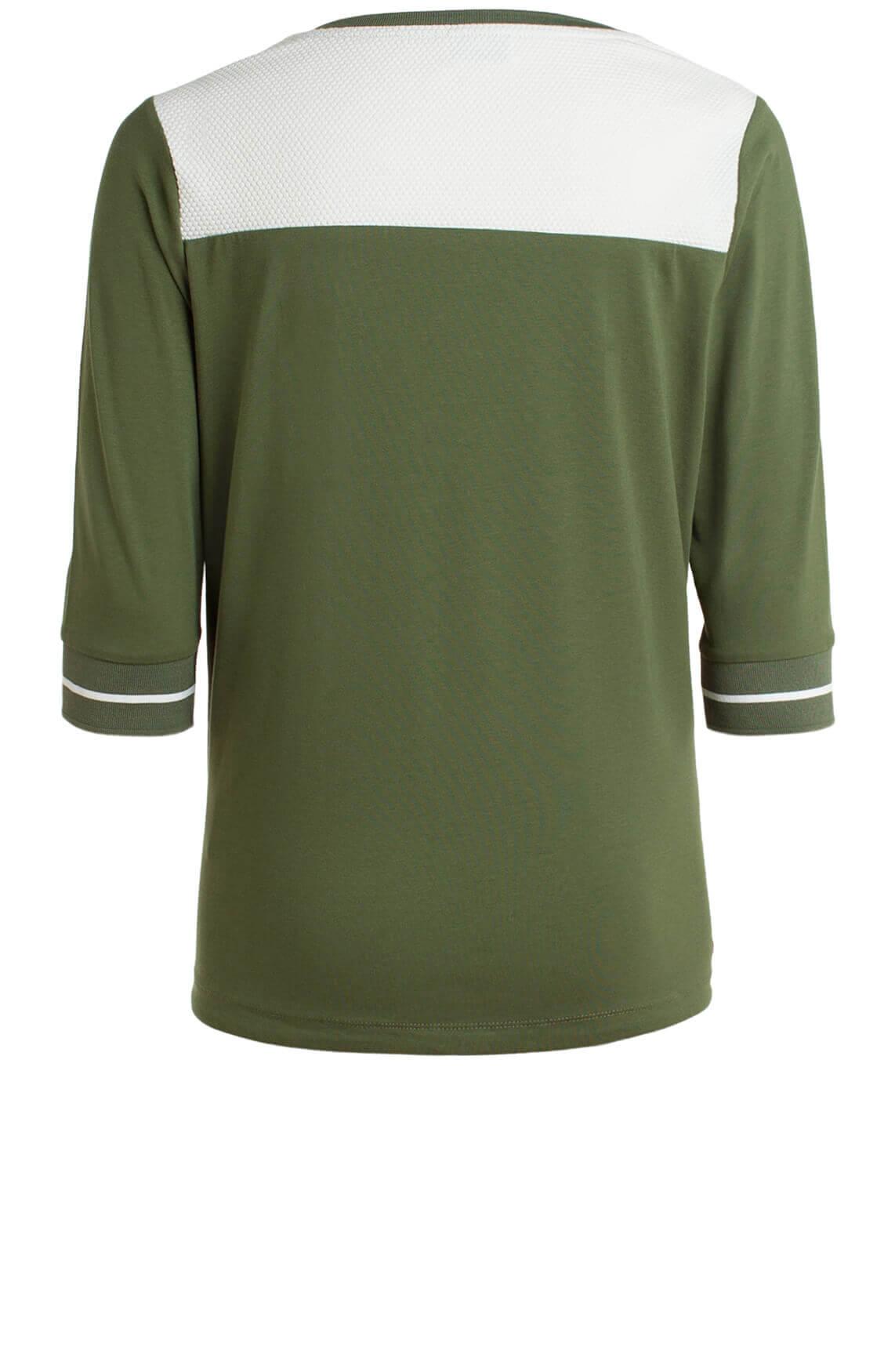 Anna Blue Dames Shirt groen