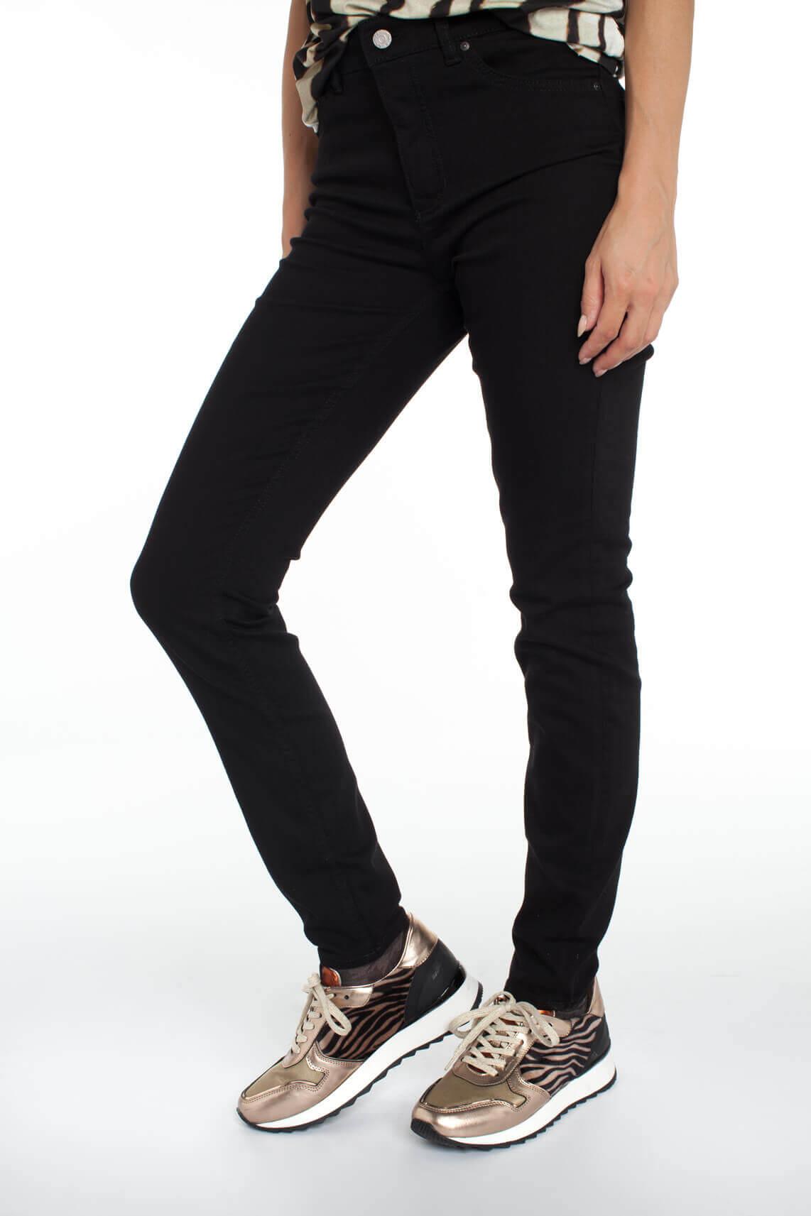 Rosner Dames L34 Audrey high waist jeans zwart