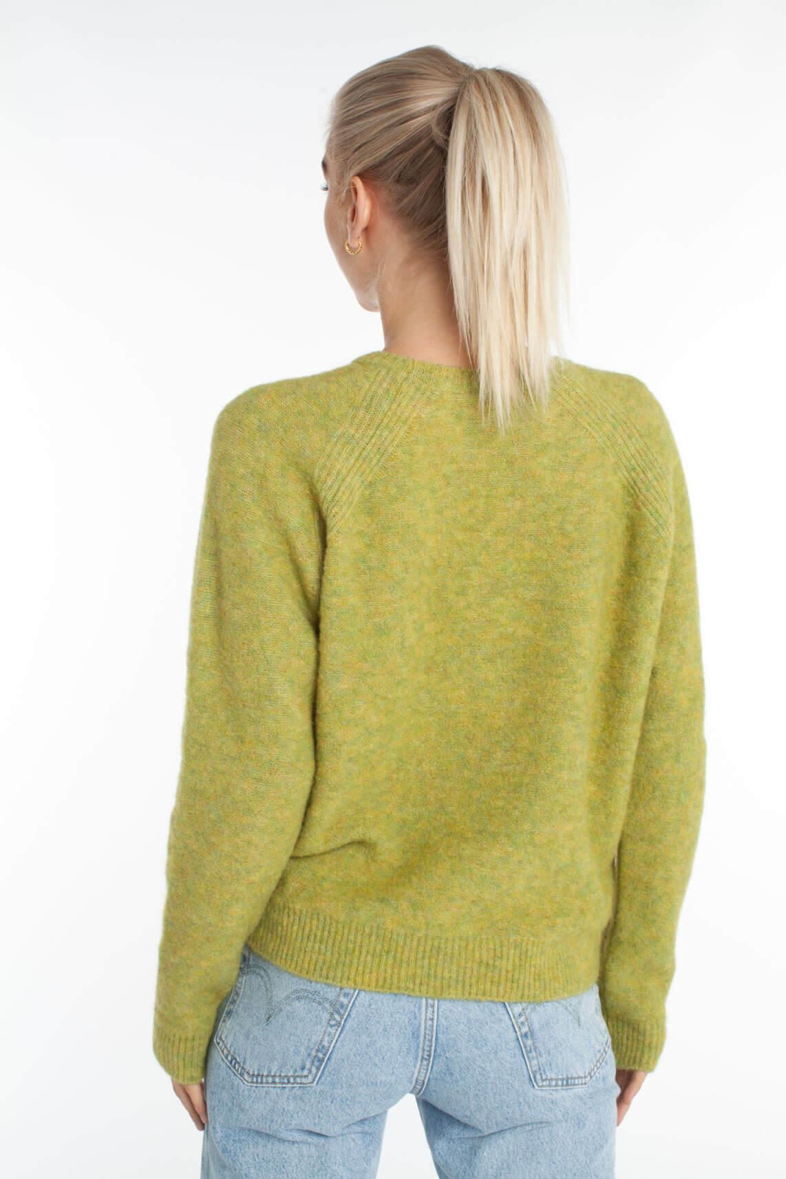 Anna Dames Wollen trui groen