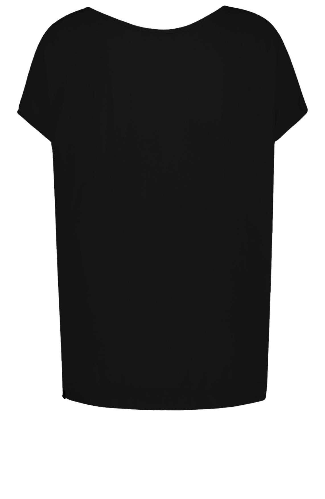 Penn & Ink Dames Blouse met strikdetail zwart