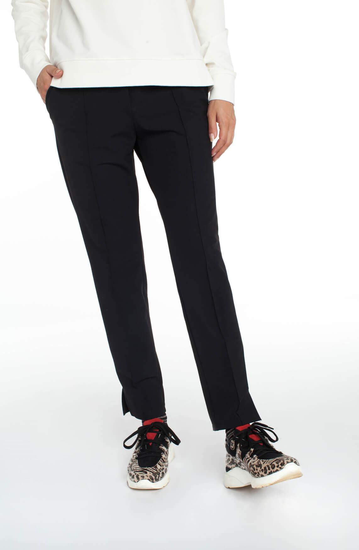 Penn & Ink Dames Jogpantalon zwart