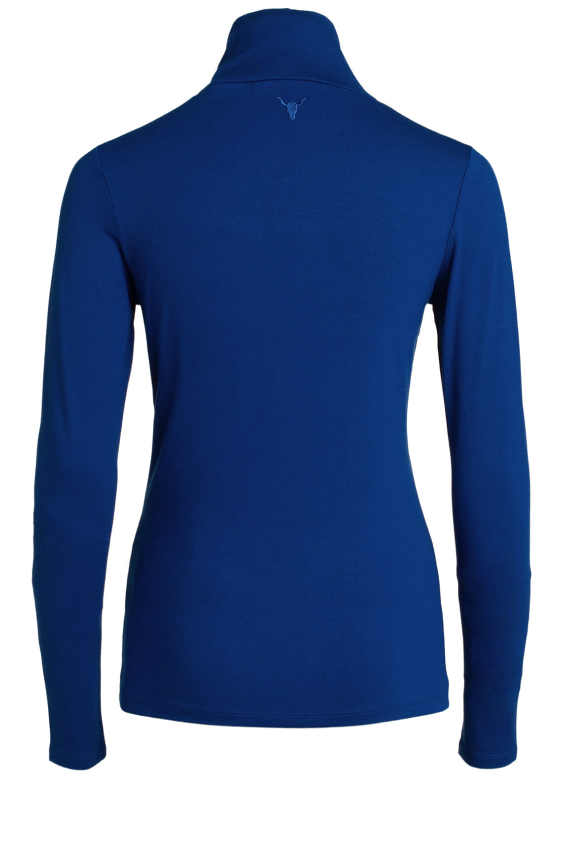 Alix The Label Dames Stretch pullover Blauw