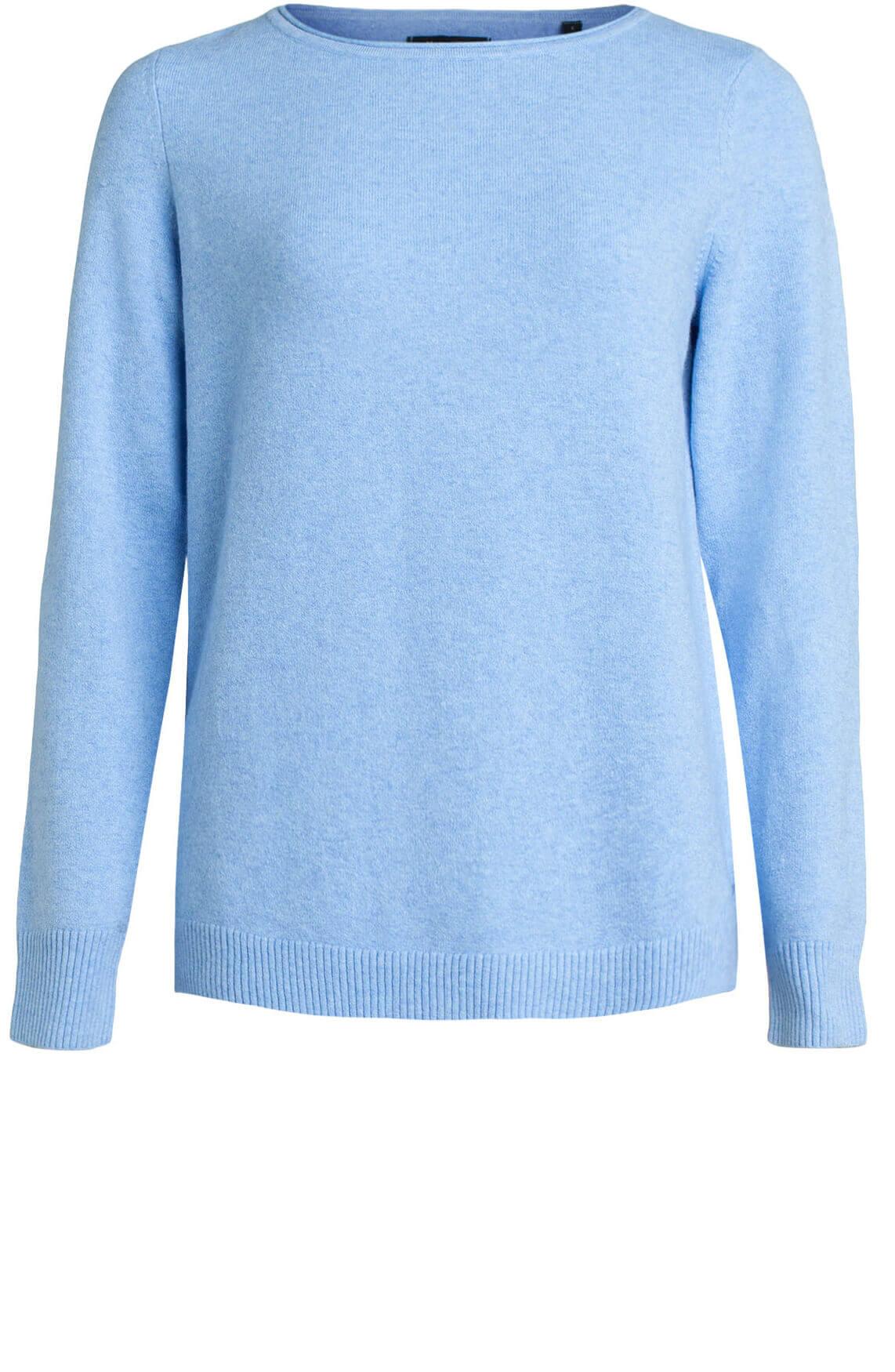 Marc O'Polo Dames Fijngebreide pullover Blauw