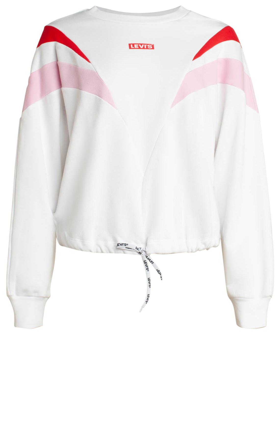 Levi s Dames Sweater met koord wit
