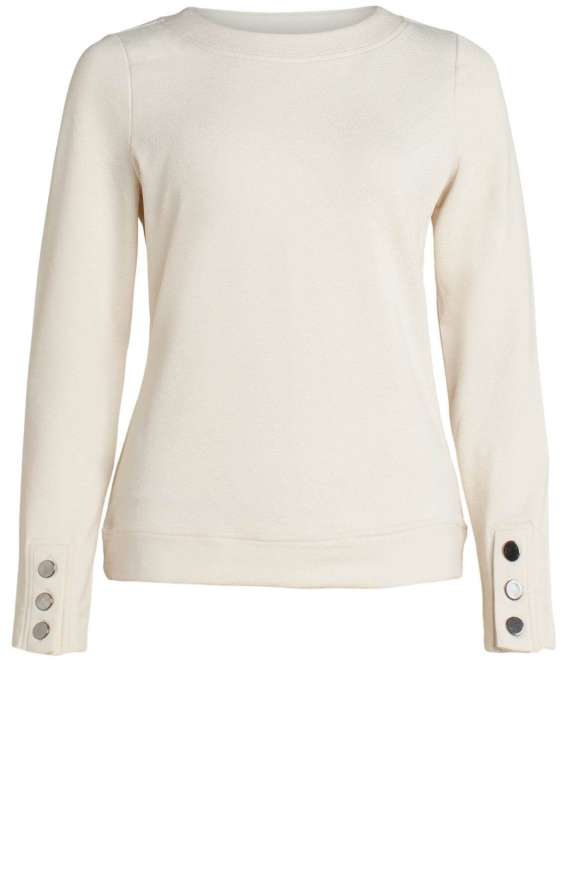 Anna Dames Sweater Wit
