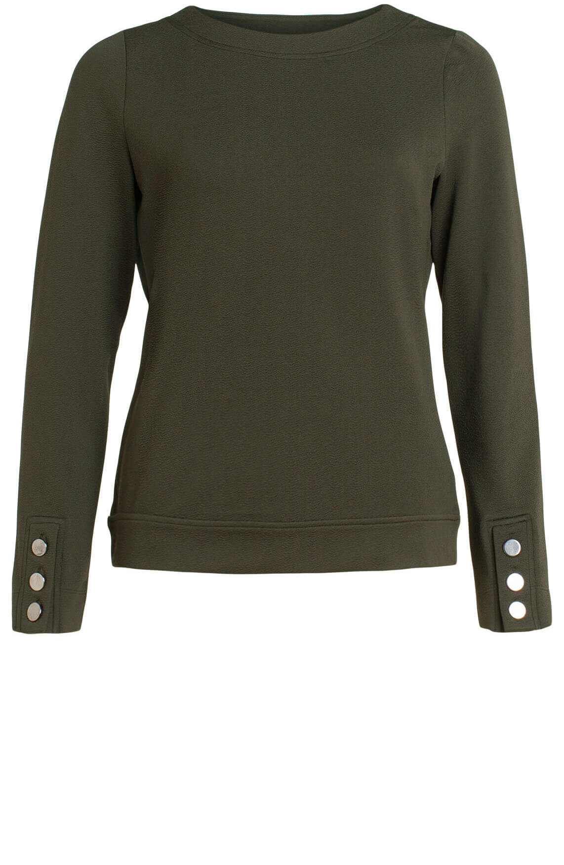 Anna Dames Sweater groen