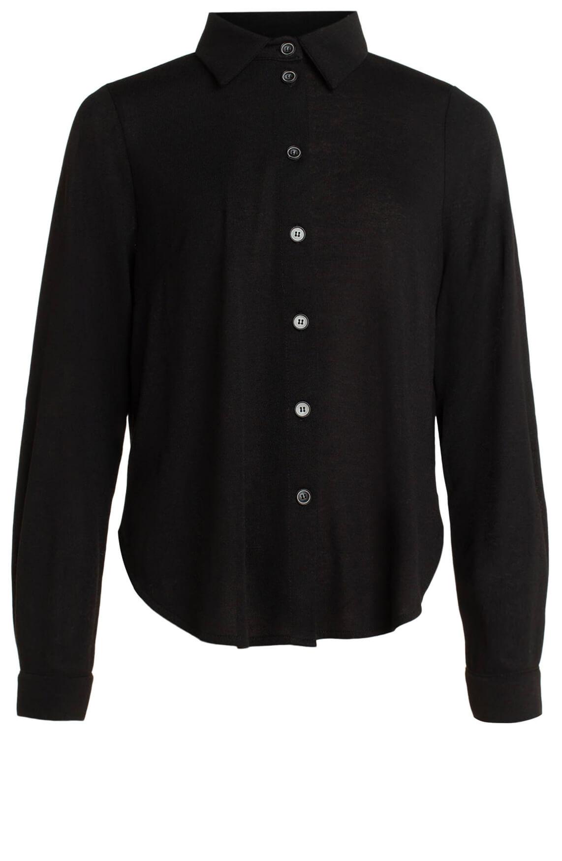 La Fée Maraboutée Dames Casual blouse zwart