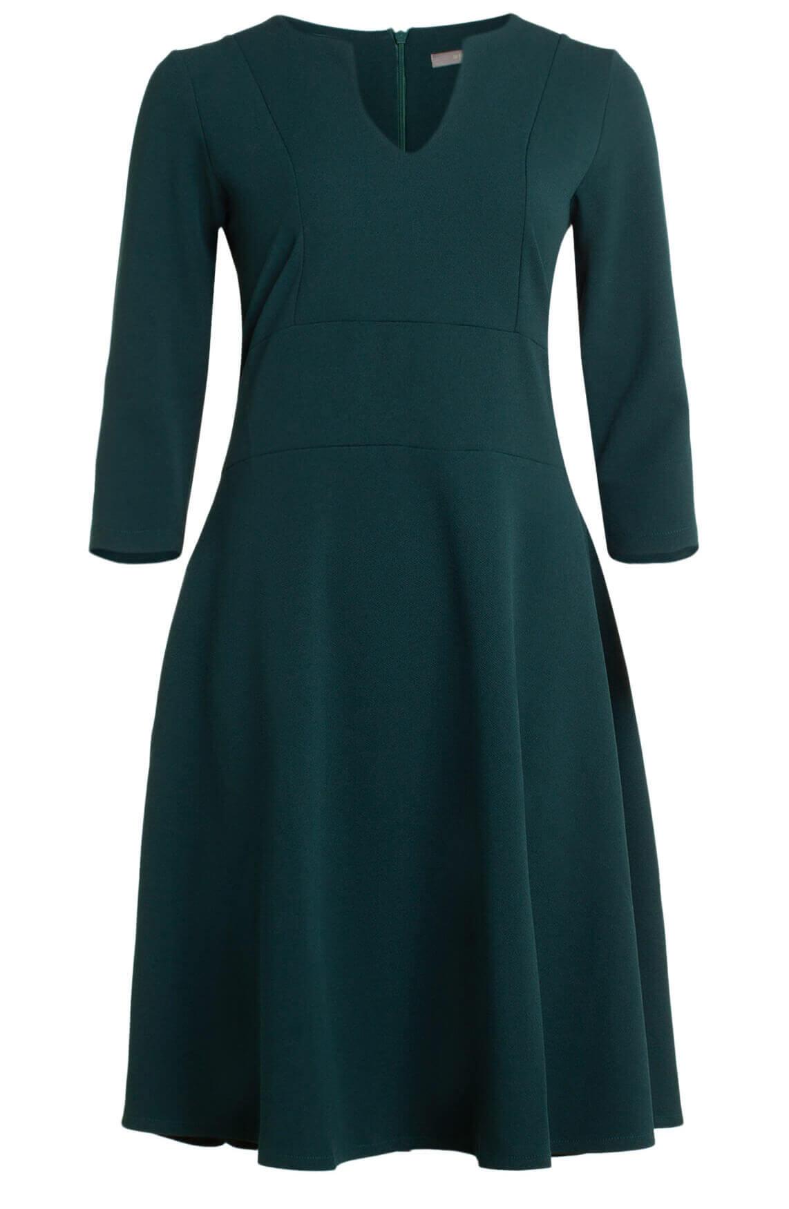 La Fée Maraboutée Dames A-lijn jurk groen