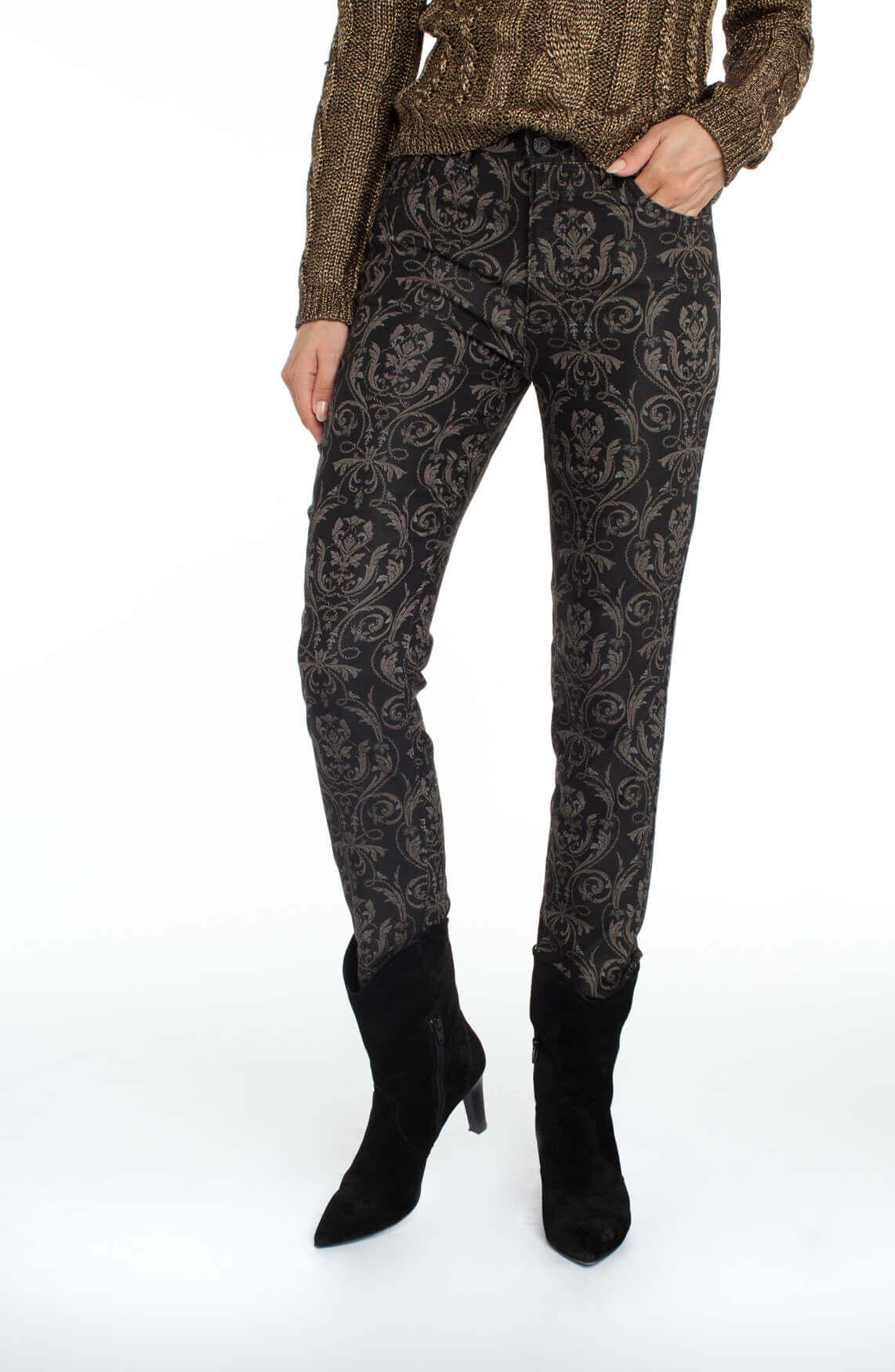 Rosner Dames Audrey jeans met barok zwart