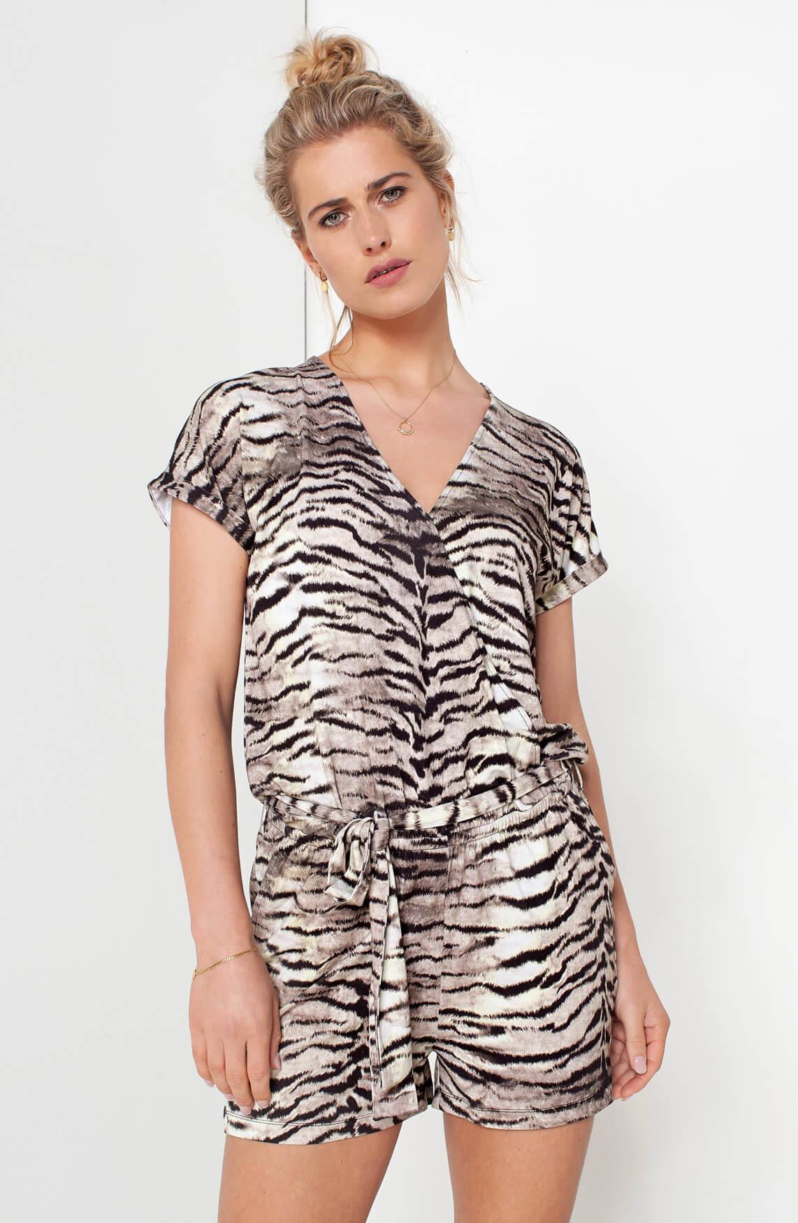Dames Zebra jumpsuit