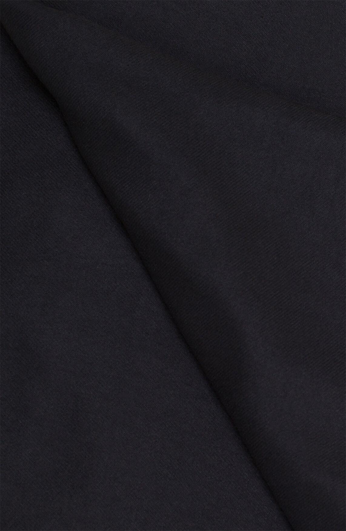 Codello Dames Shawl met franjes zwart