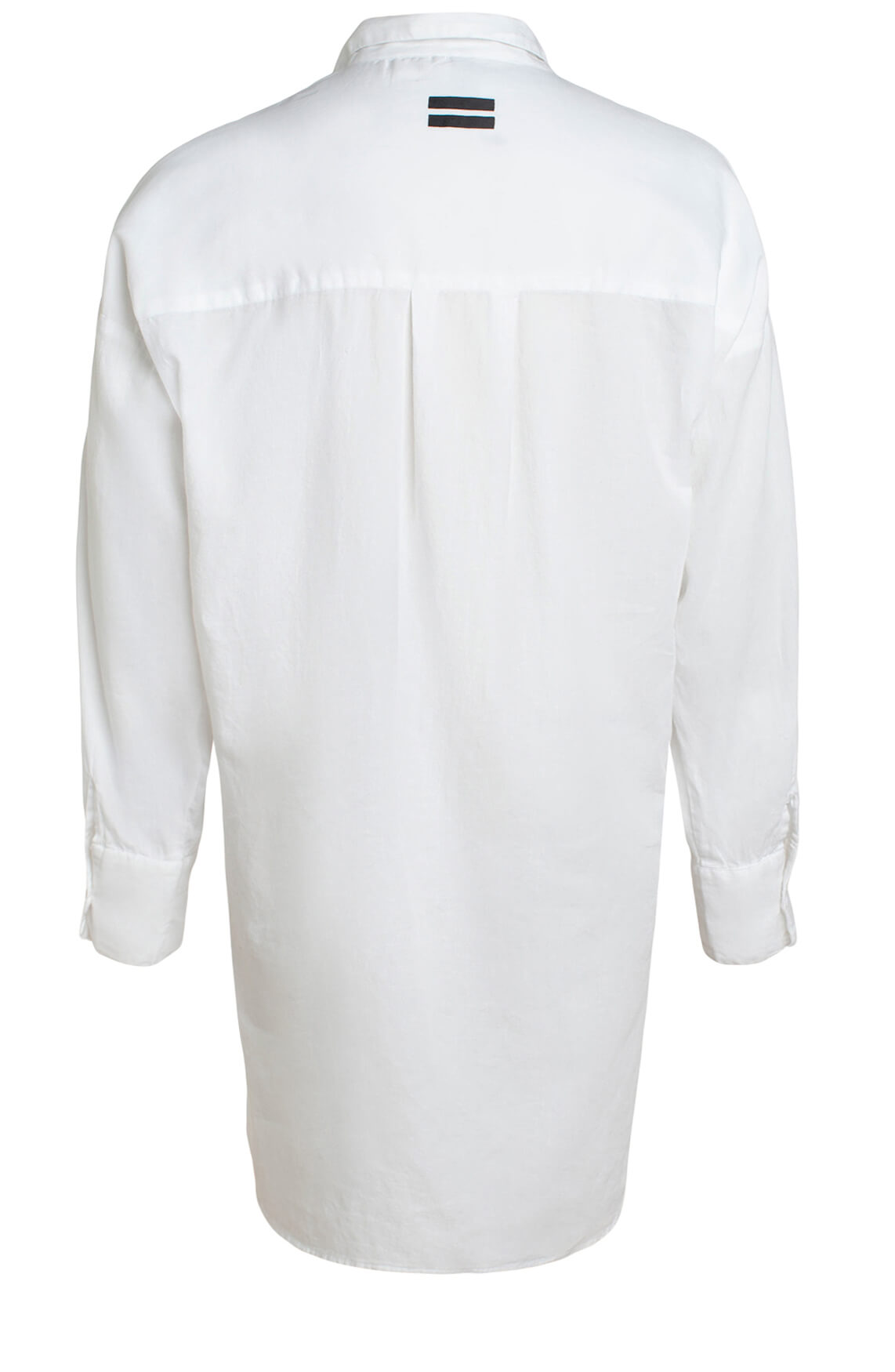 10 Days Dames Oversized lange blouse wit