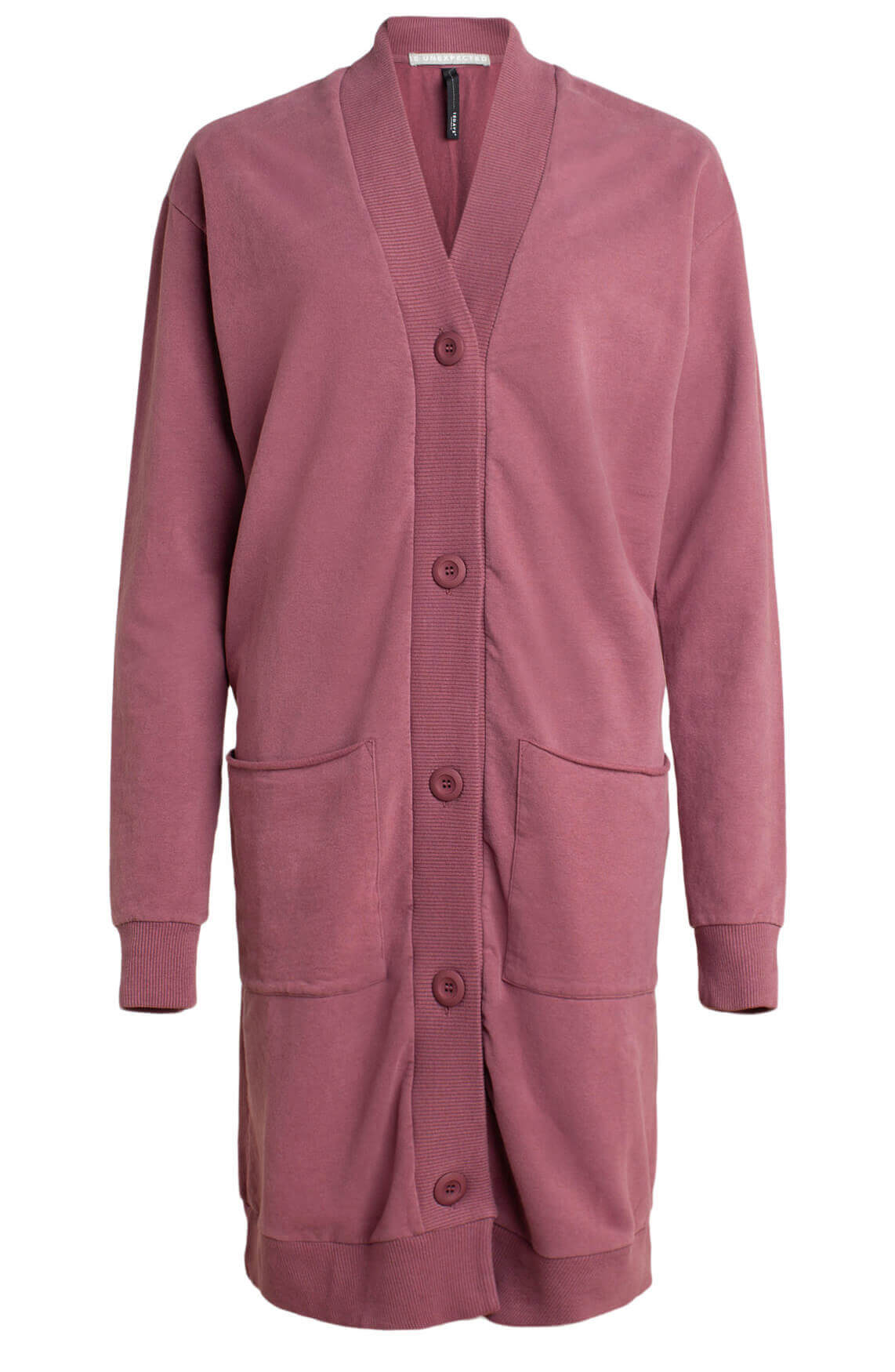 10 Days Dames Oversized cardigan roze