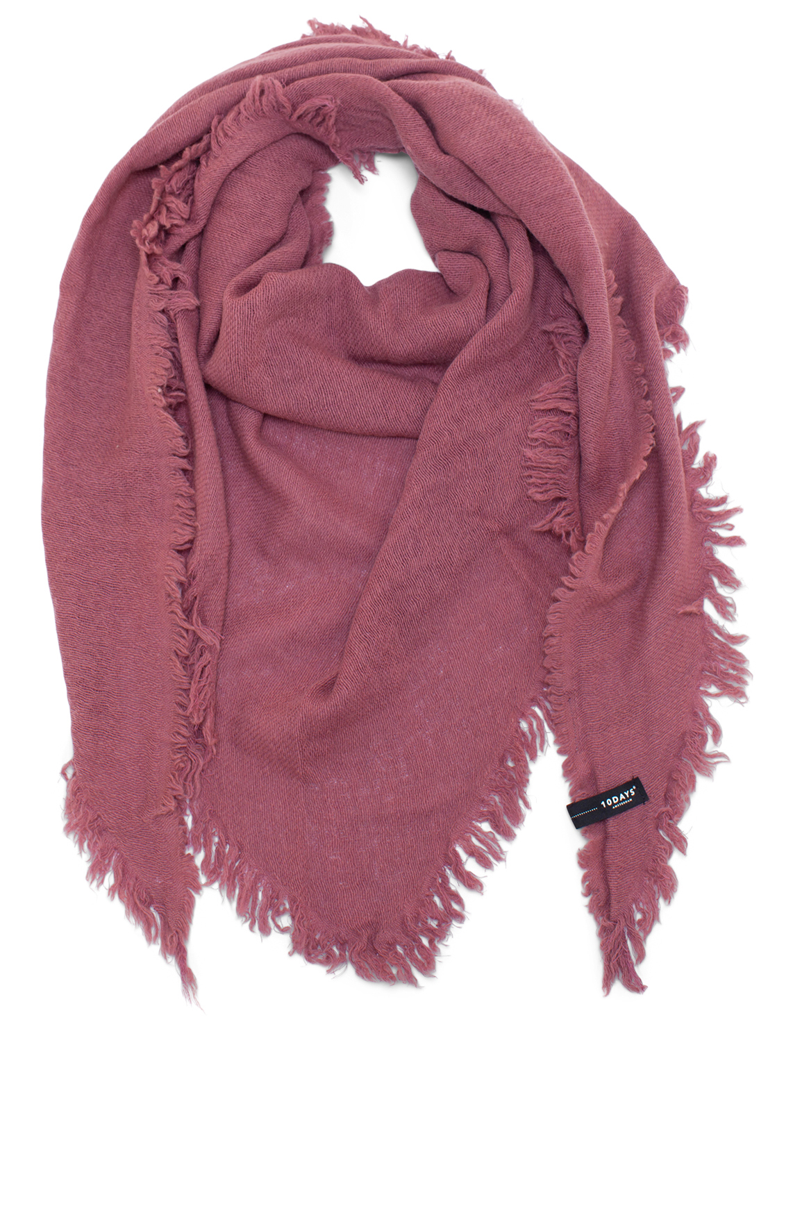 10 Days Dames Driehoekige shawl roze