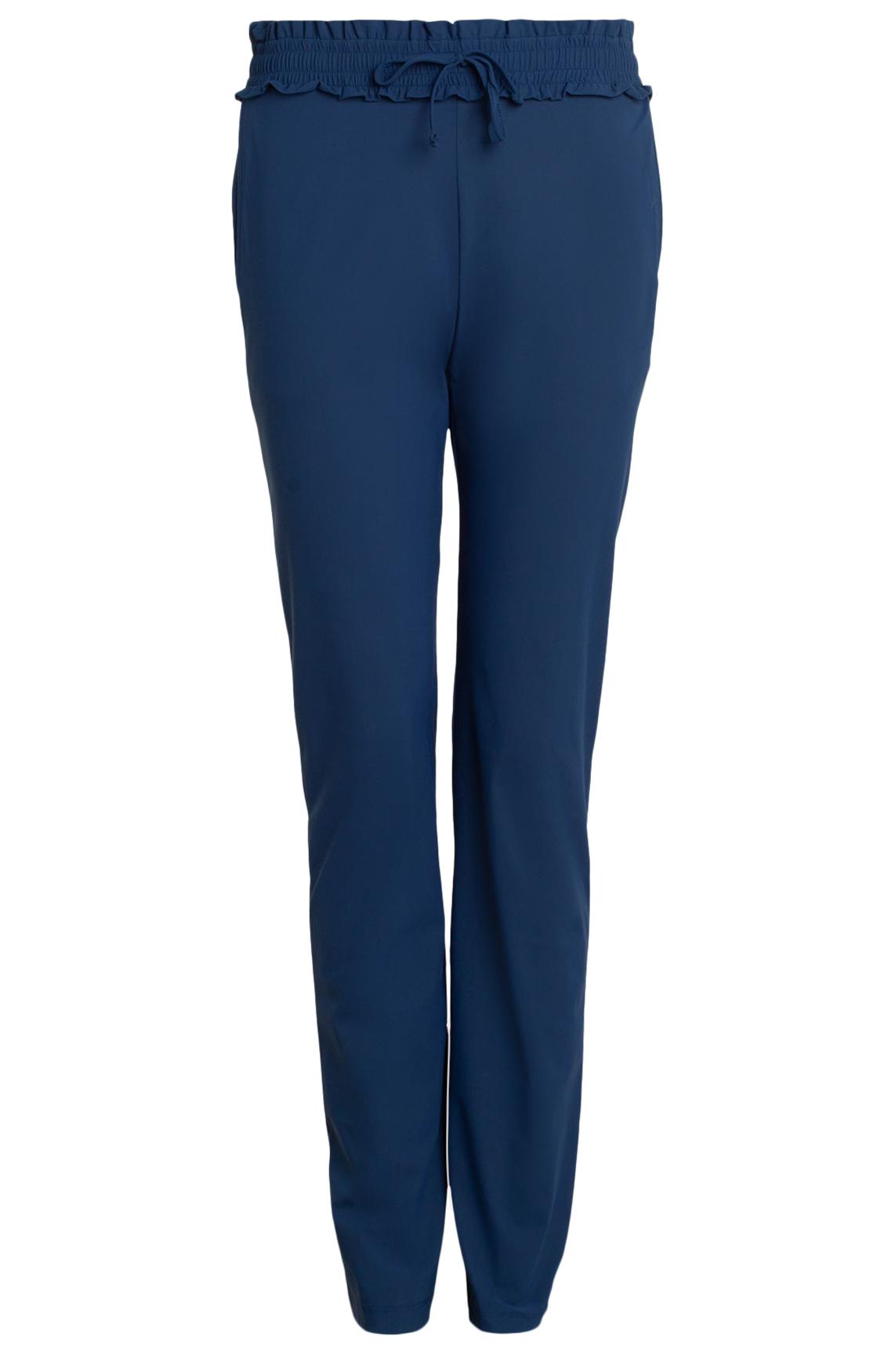 Moscow Dames Jersey broek Blauw