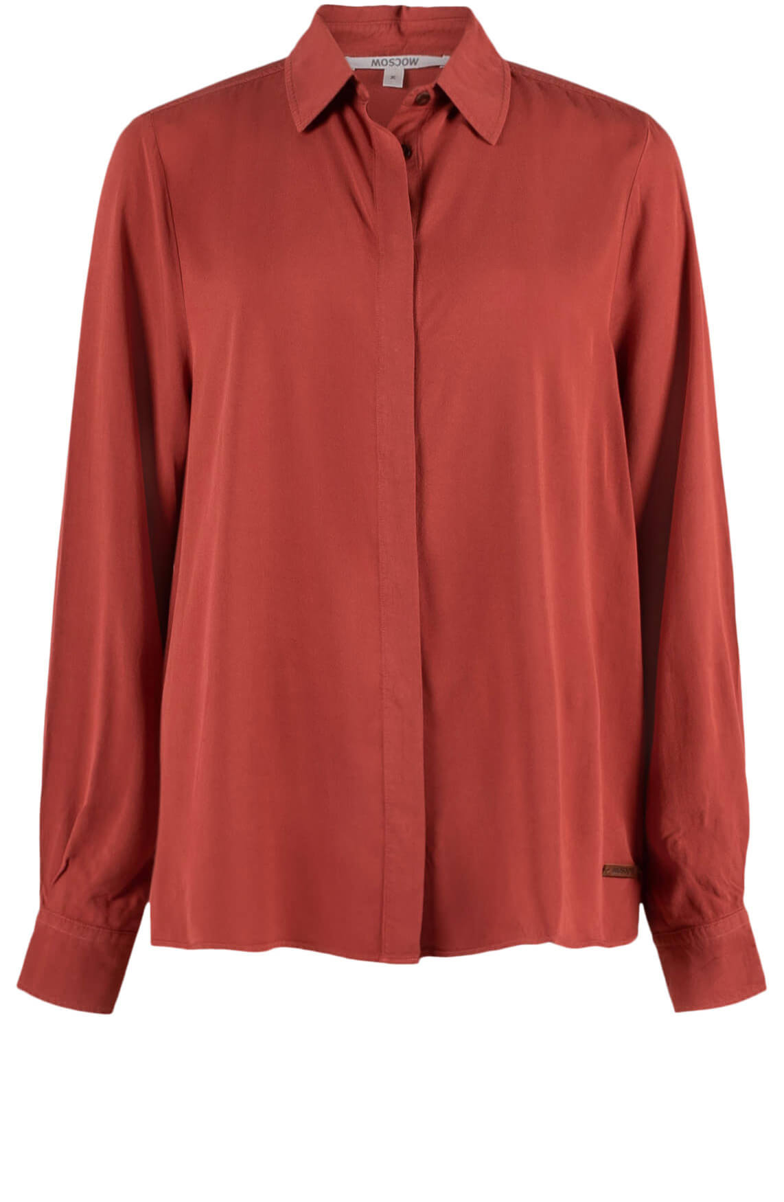 Moscow Dames Flowy blouse Rood