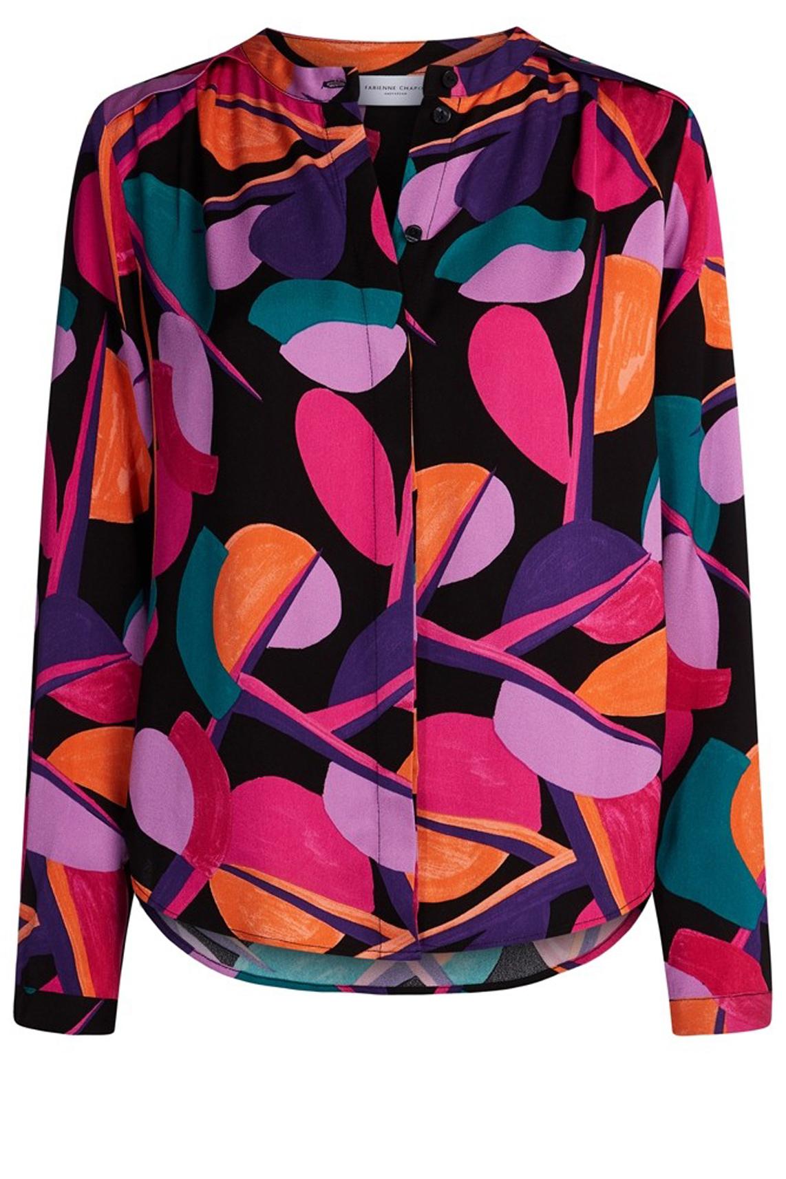 Fabienne Chapot Dames Sunset blouse zwart