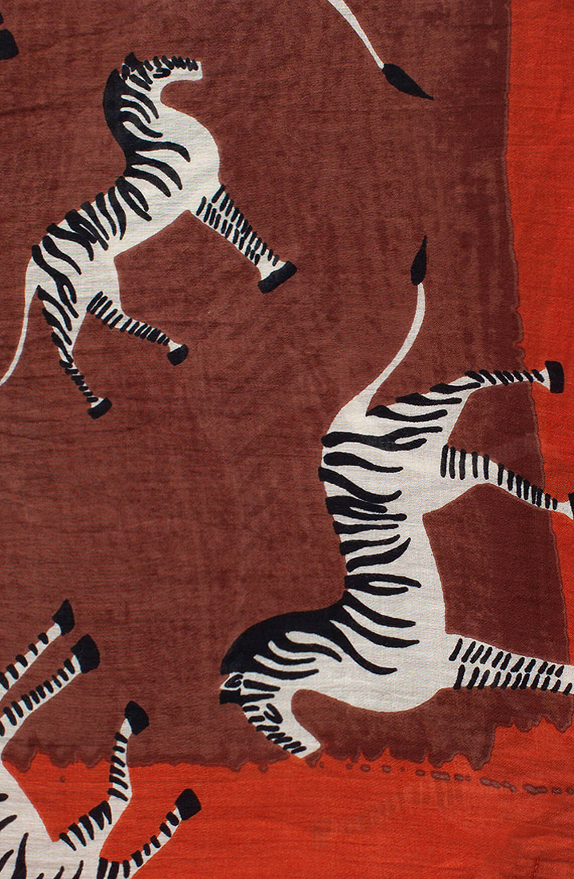Moment by Moment Dames Shawl met zebra