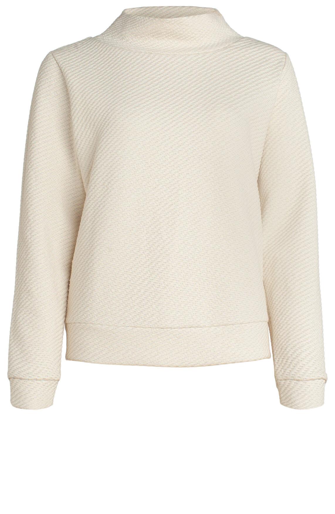 Anna Dames Sweater met glitter Ecru