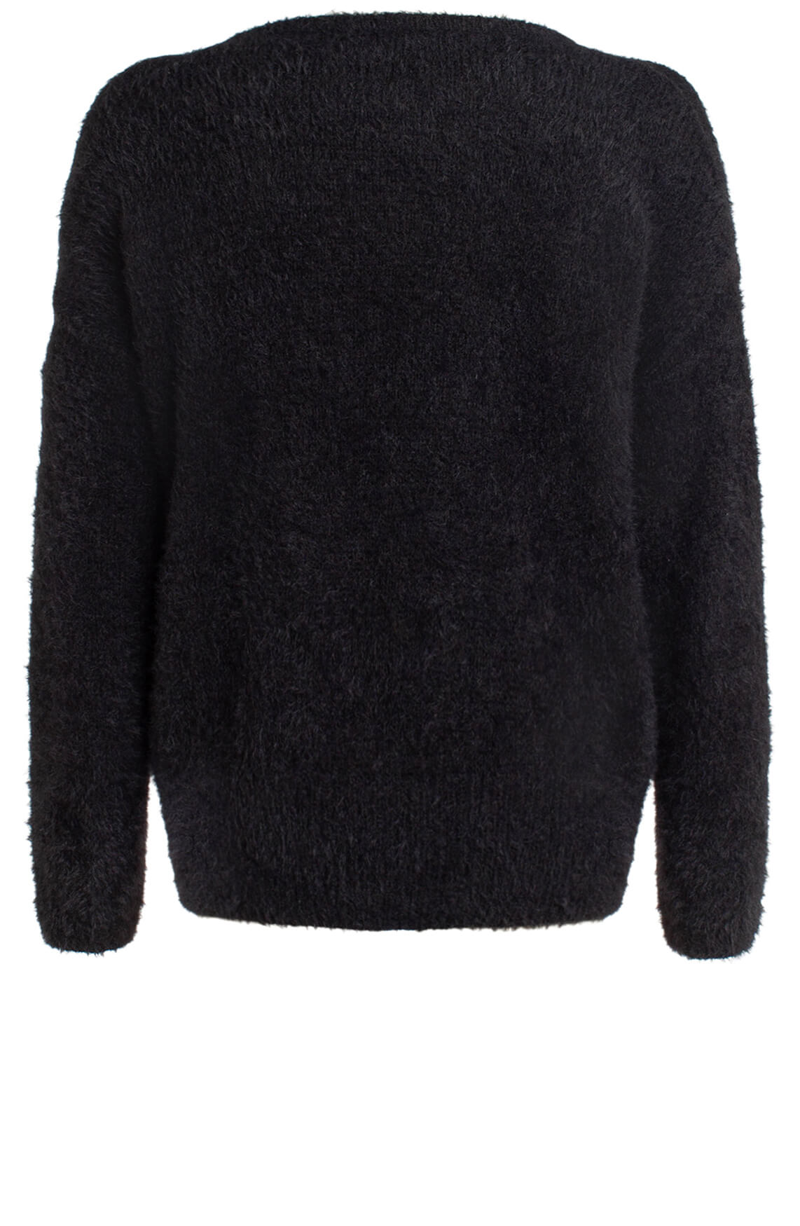 Anna Dames Zachte trui zwart