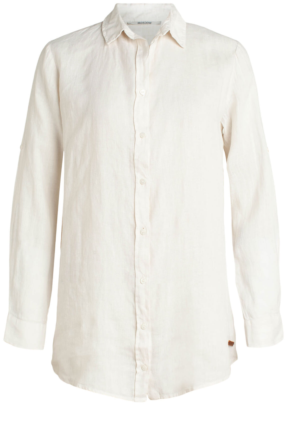 Moscow Dames Linnen blouse wit