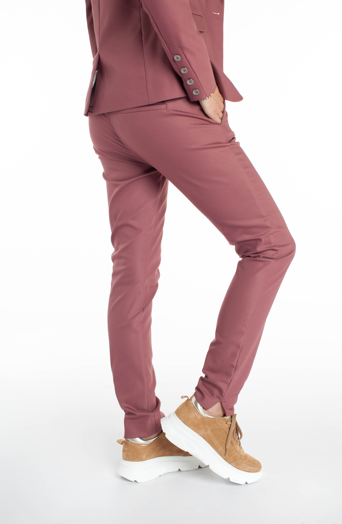 Mos Mosh Dames Abbey pantalon Paars